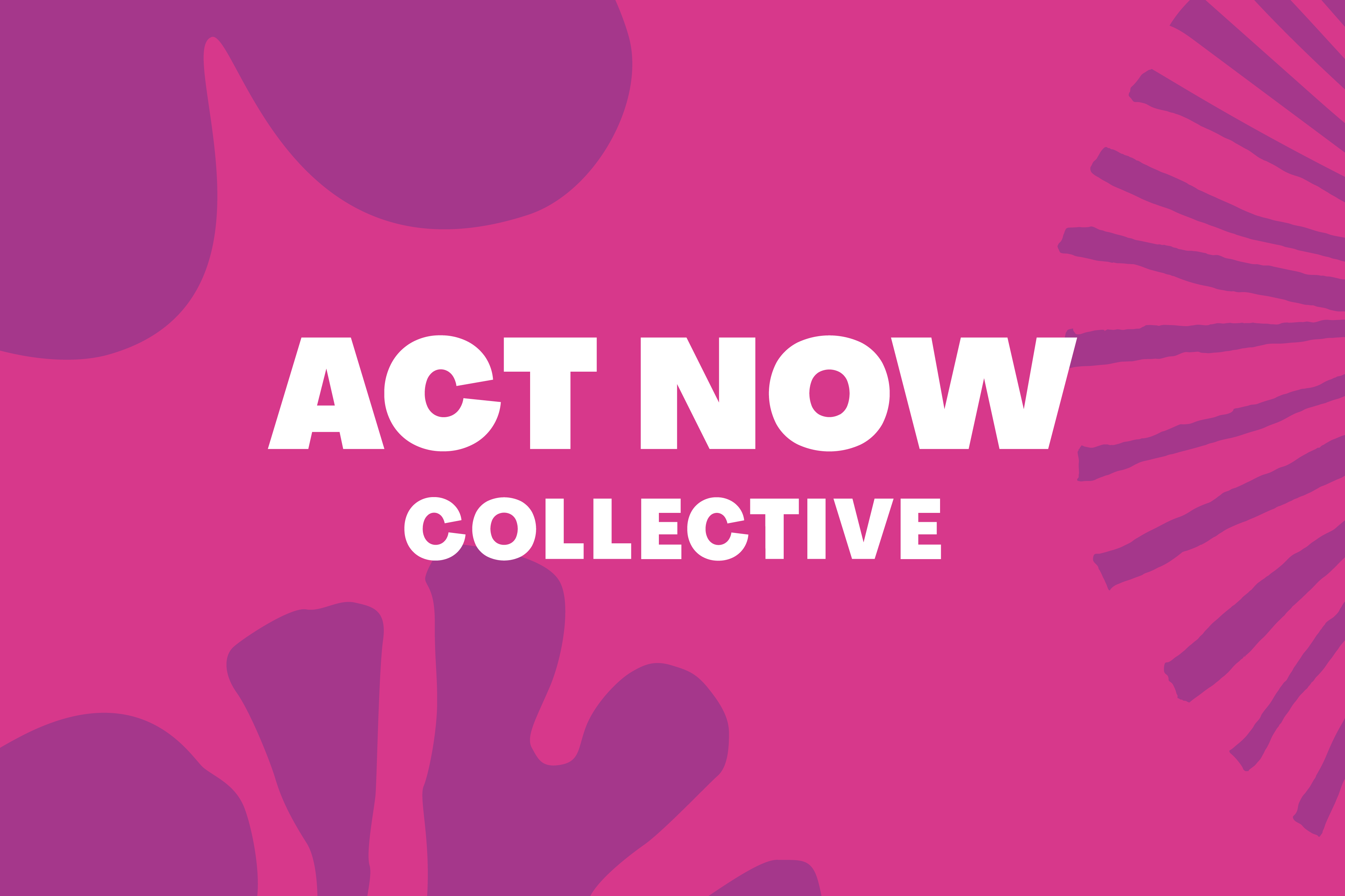 Cover image: The Act Now Collective