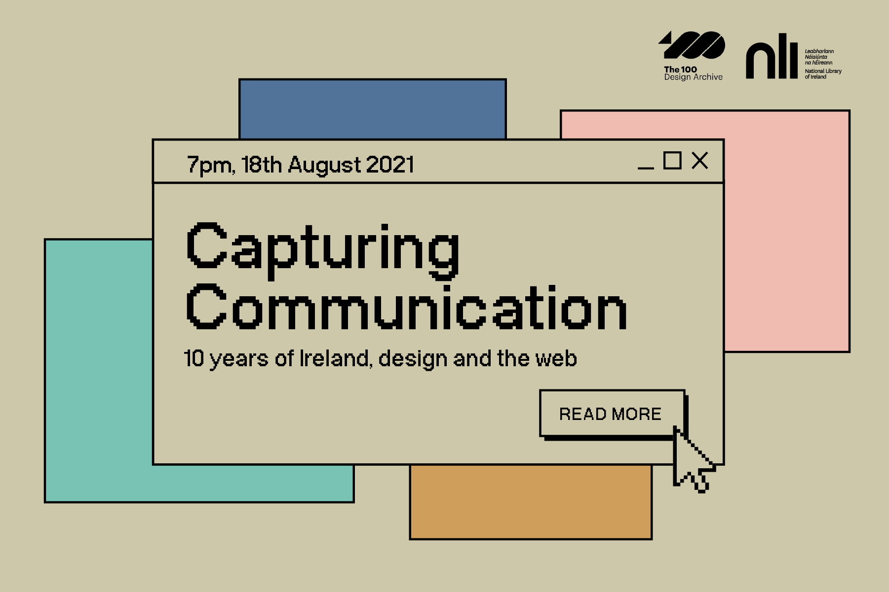 Cover image: Capturing Communications: the last 10 years of Ireland, design and the web