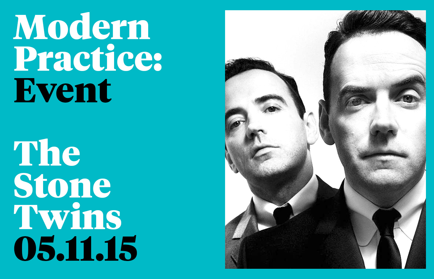 Cover image: Modern Practice Event – The Stone Twins