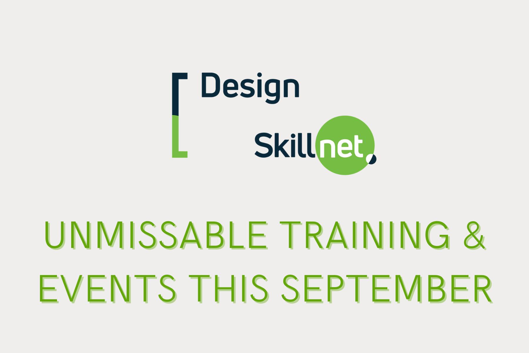 Cover image: September Training from Design Skillnet