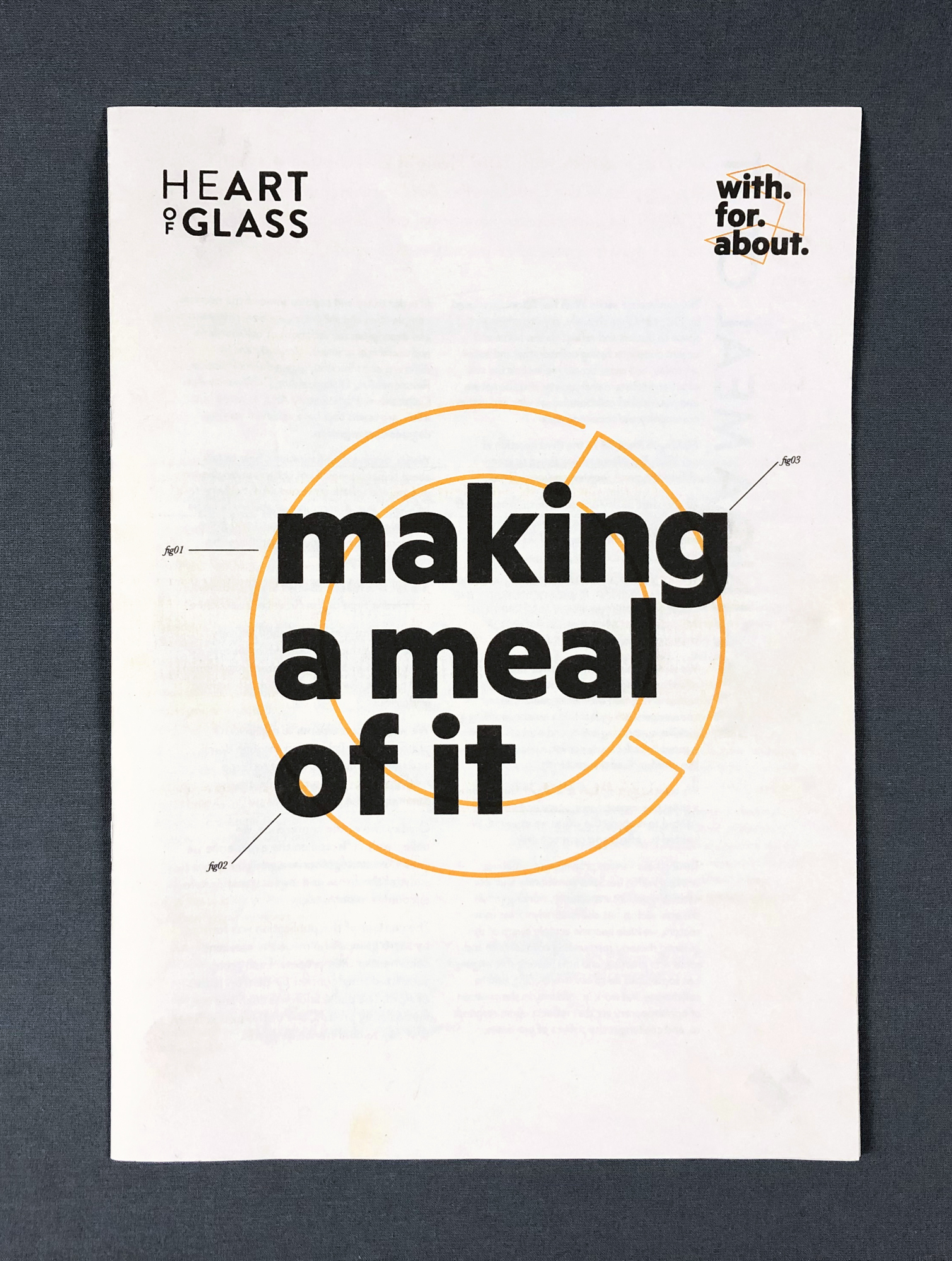Cover image: With For About: Making A Meal
