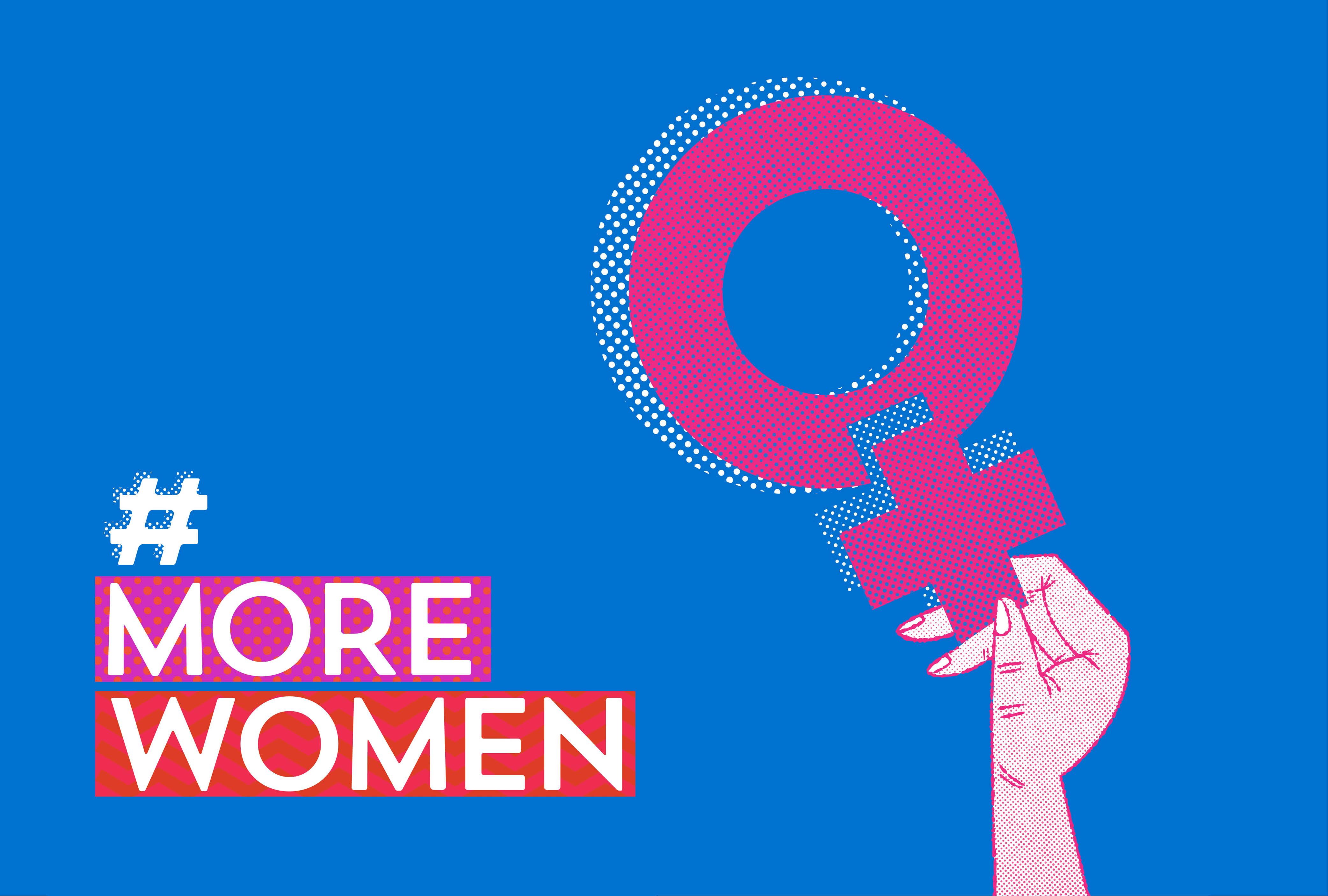 Cover image: #MOREWOMEN Campaign