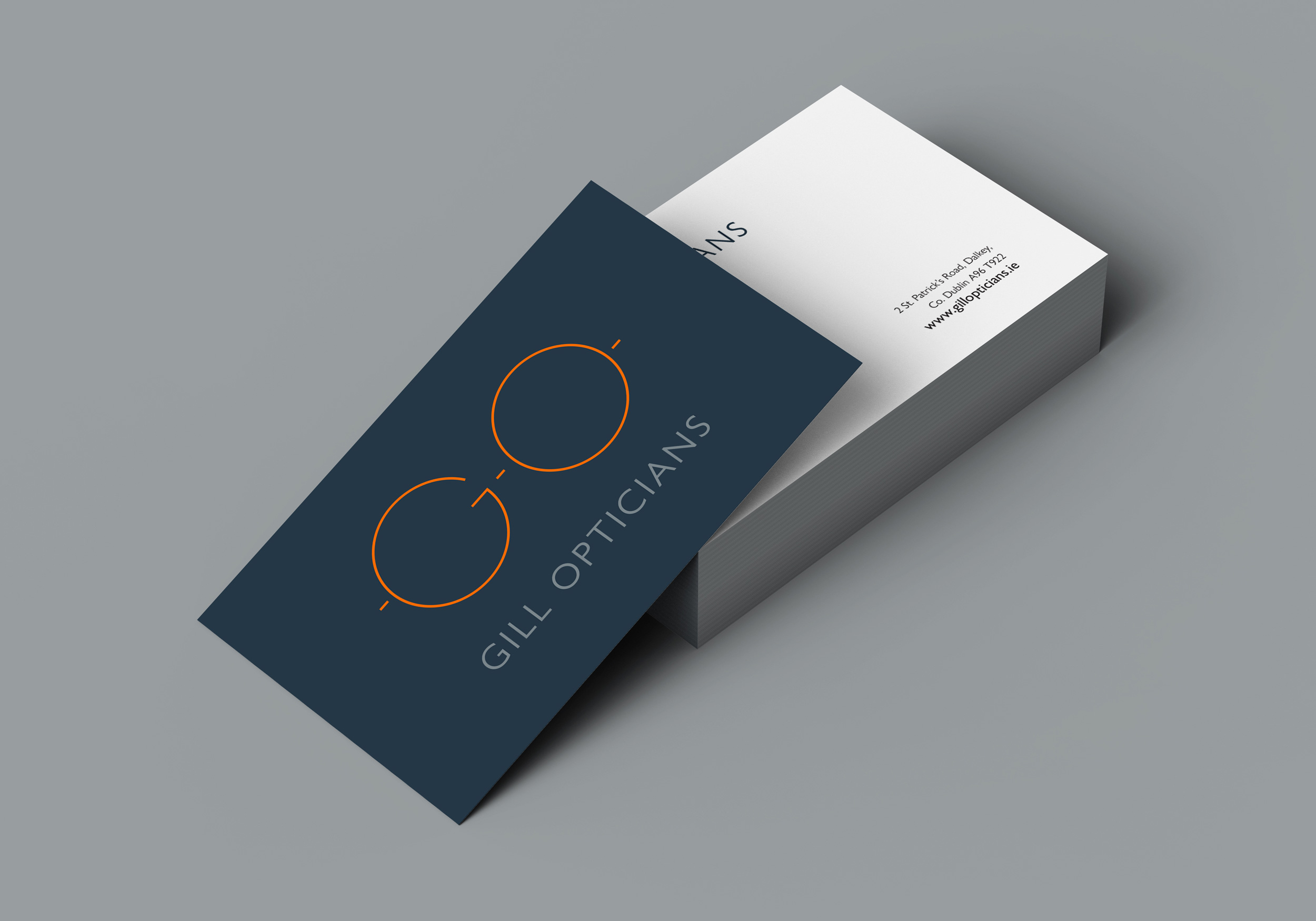 Cover image: Gill Opticians Branding