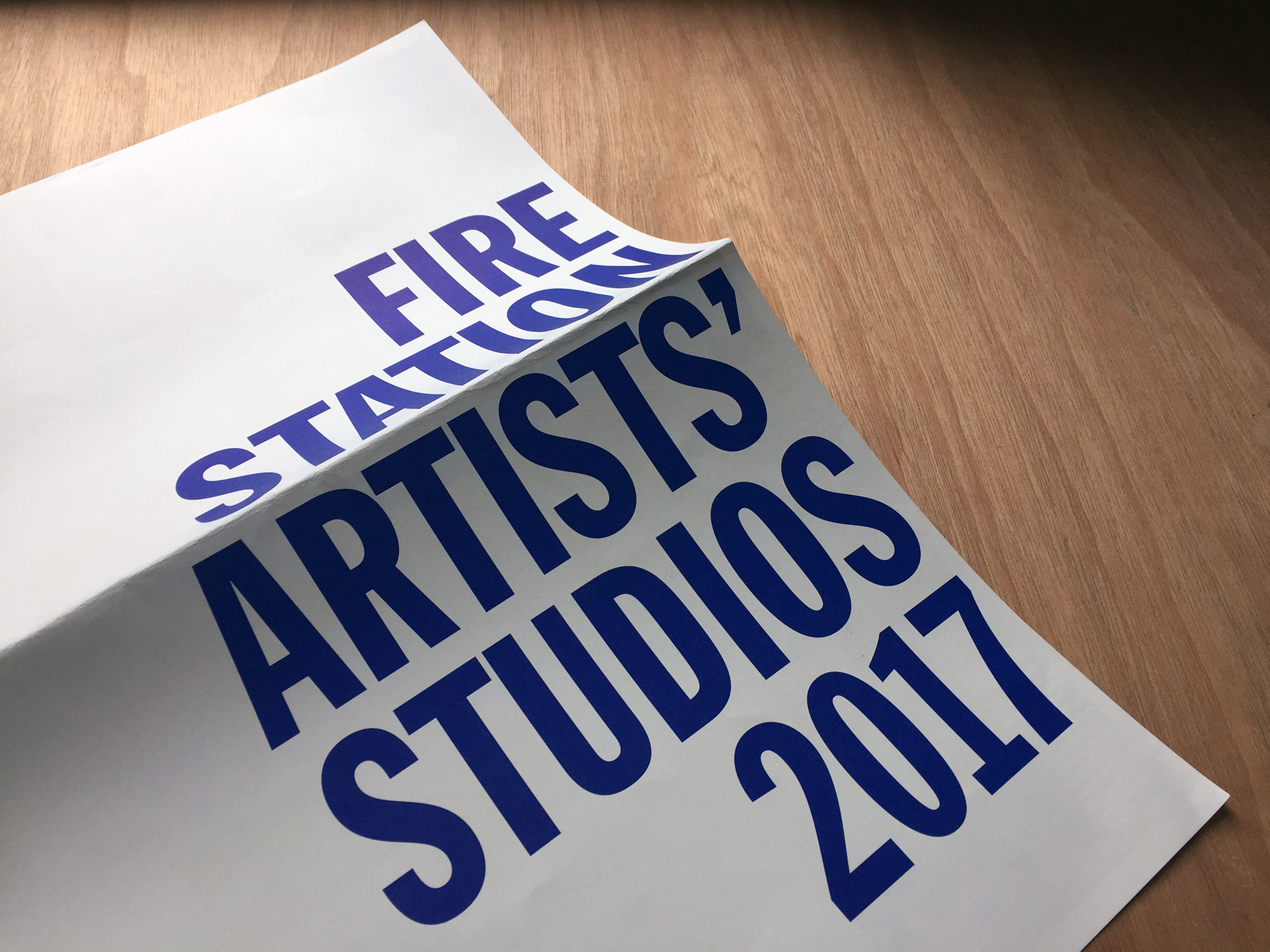 Cover image: Firestation Artists' Studios Programme 2017