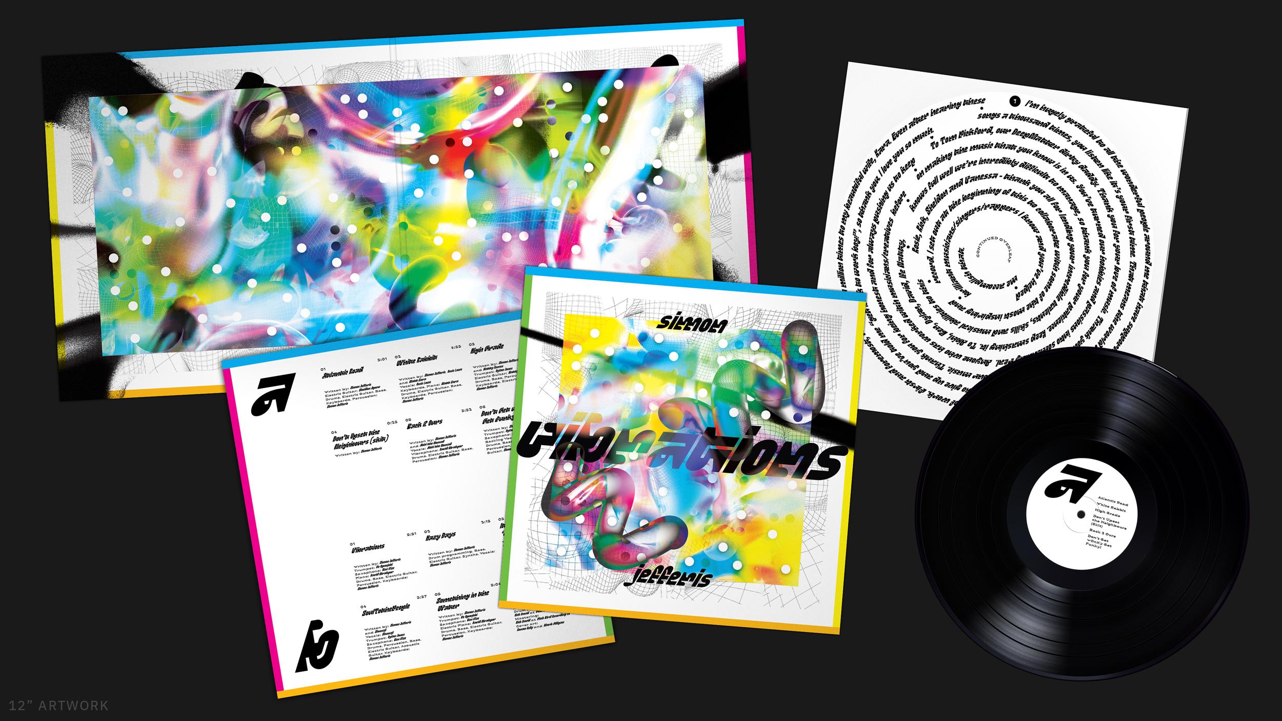 Cover image: 'Vibrations' by Simon Jefferis