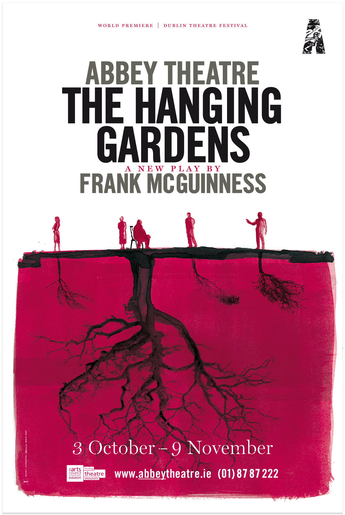 Cover image: Abbey Theatre – The Hanging Gardens (2013)