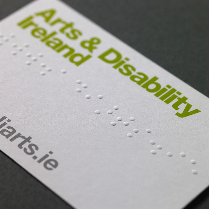 Cover image: Arts & Disability Ireland