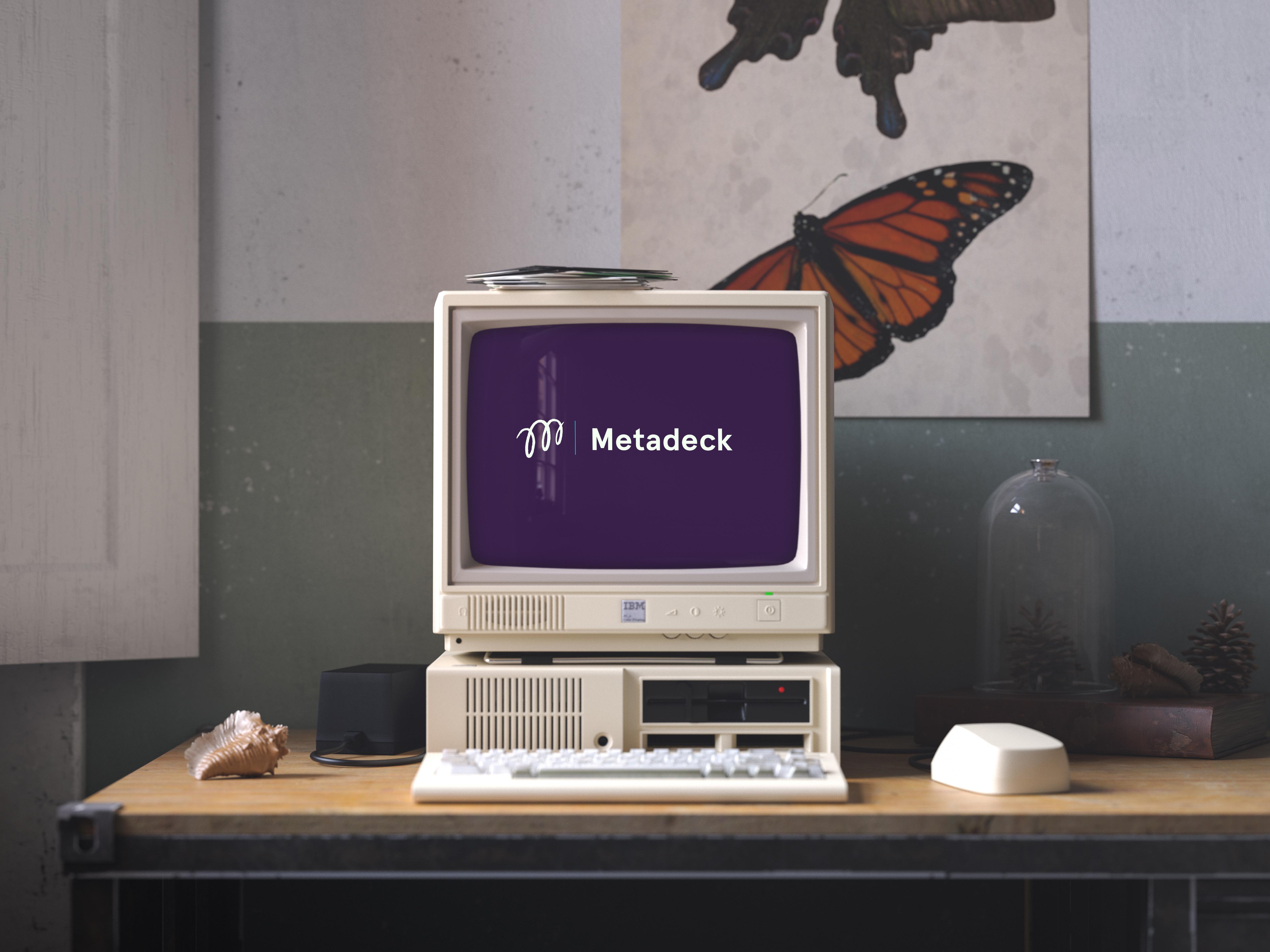 Cover image: Metadeck Logo