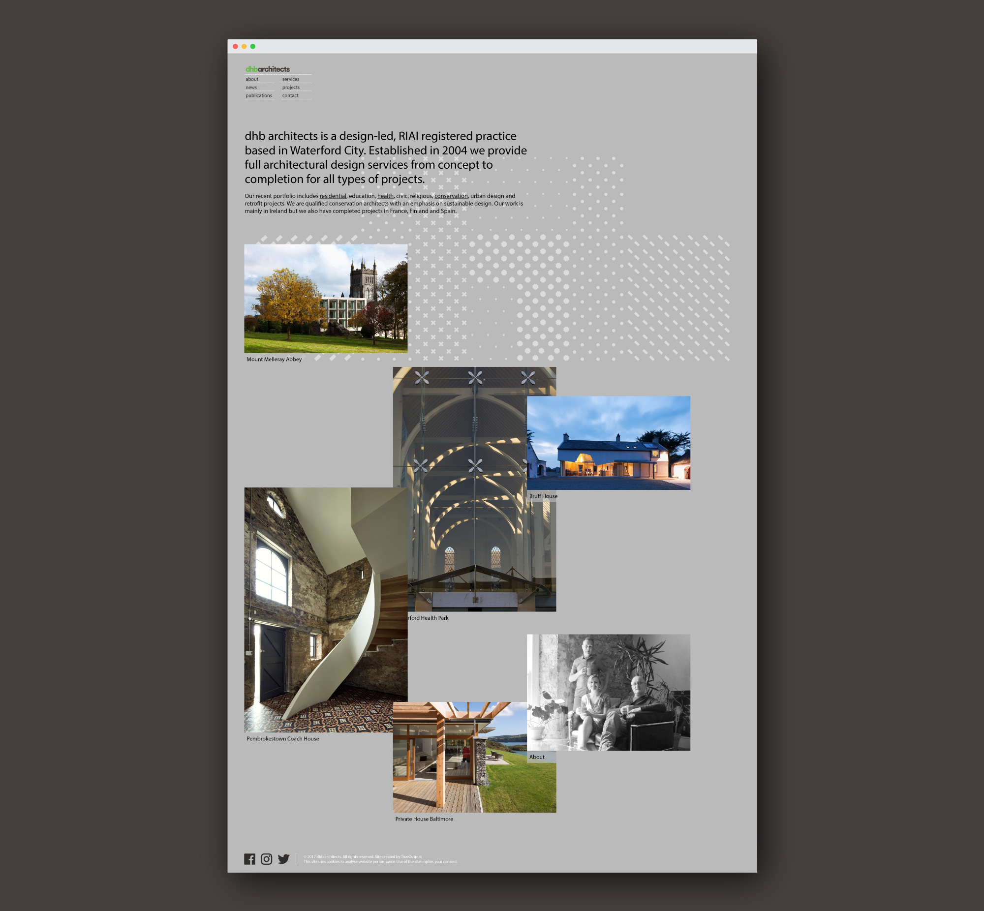 Cover image: dhb architects website