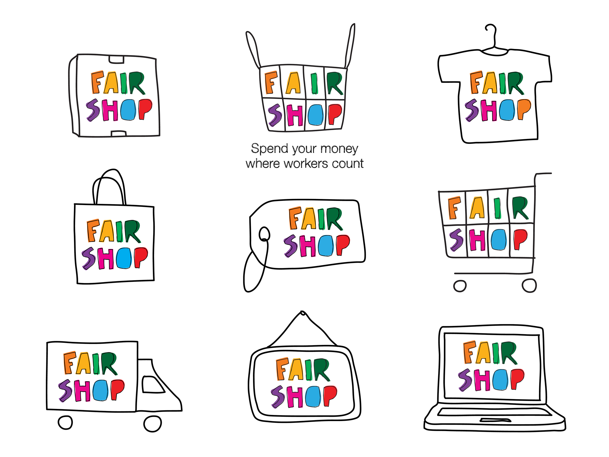 Cover image: Fair Shop Identity (2013)