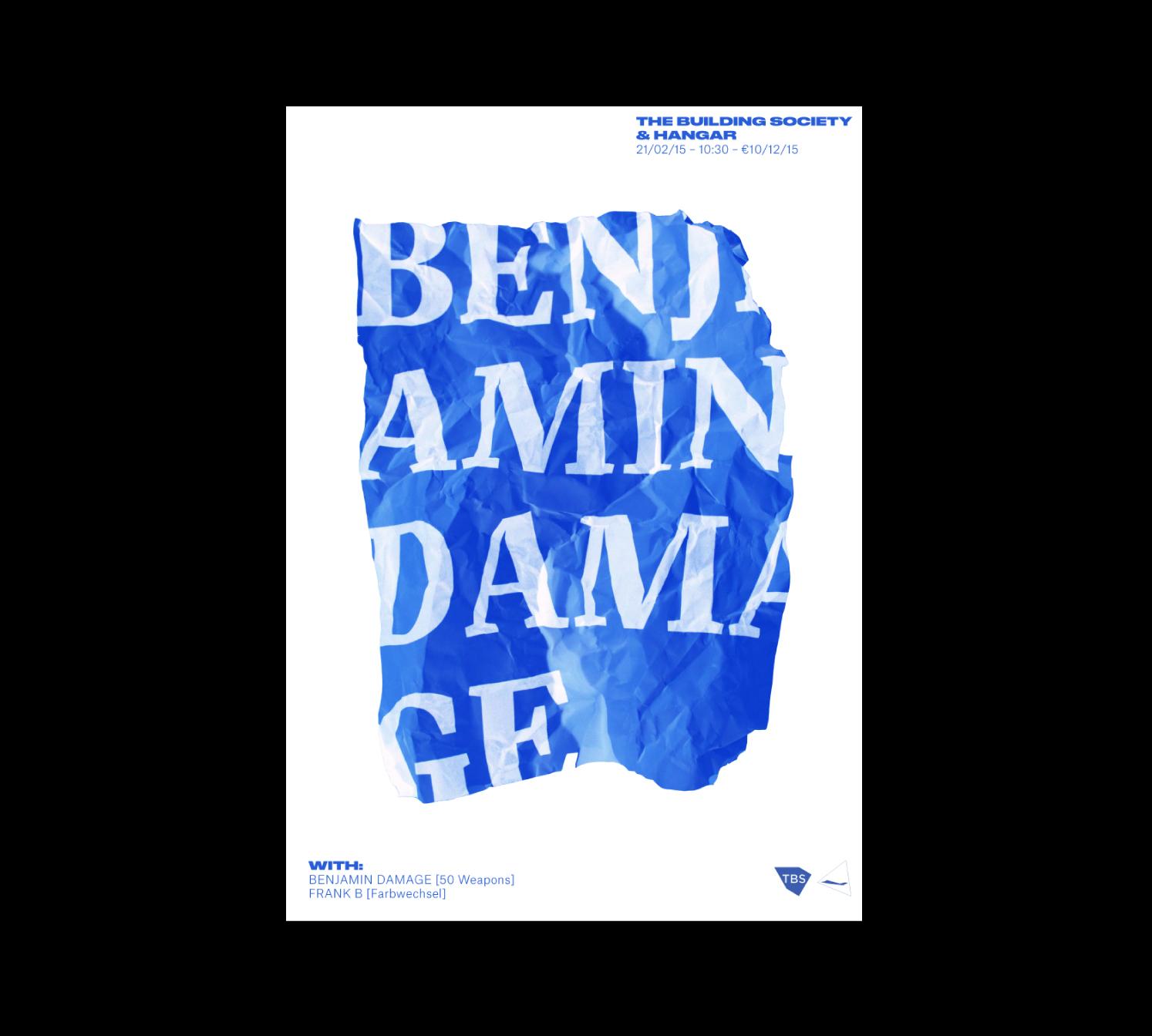 Cover image: Benjamin Damage (2015)