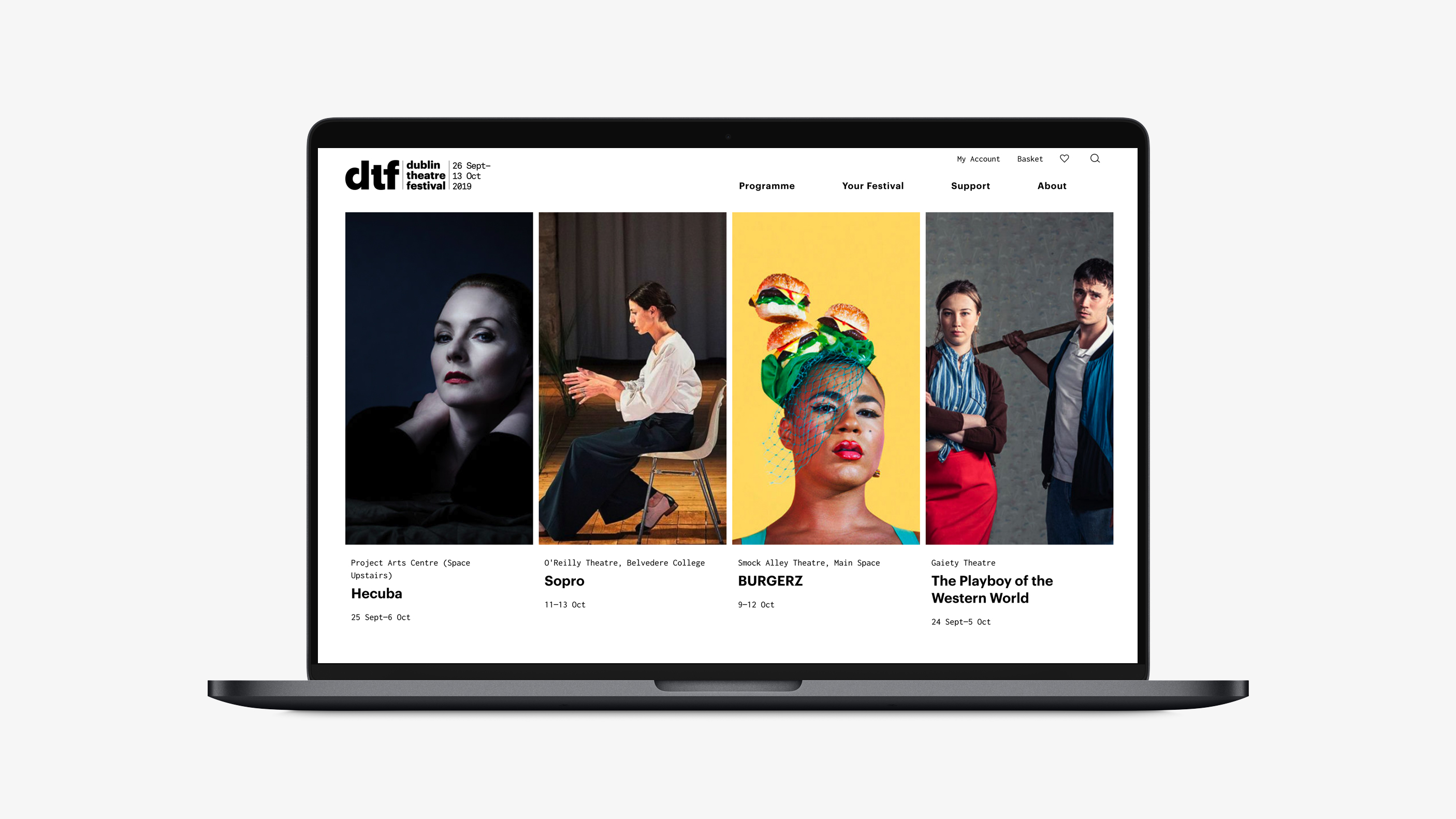Cover image: Dublin Theatre Festival – Website