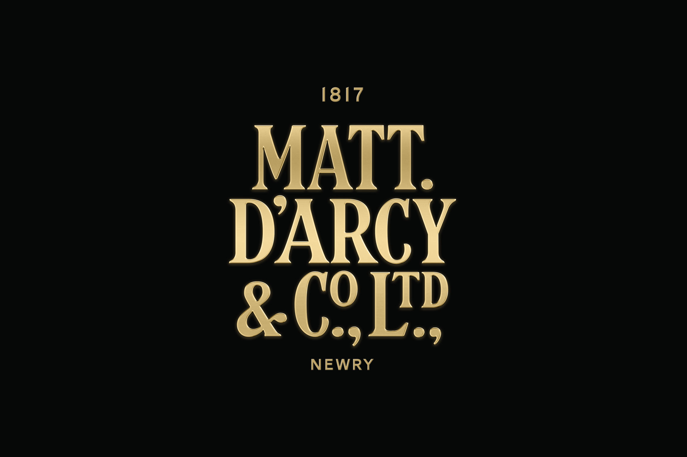 Cover image: Matt D'Arcy & Co. Ltd. Identity and Packaging
