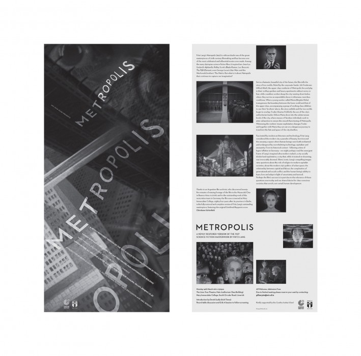 Cover image: MIC Film Club – Metropolis (2011)