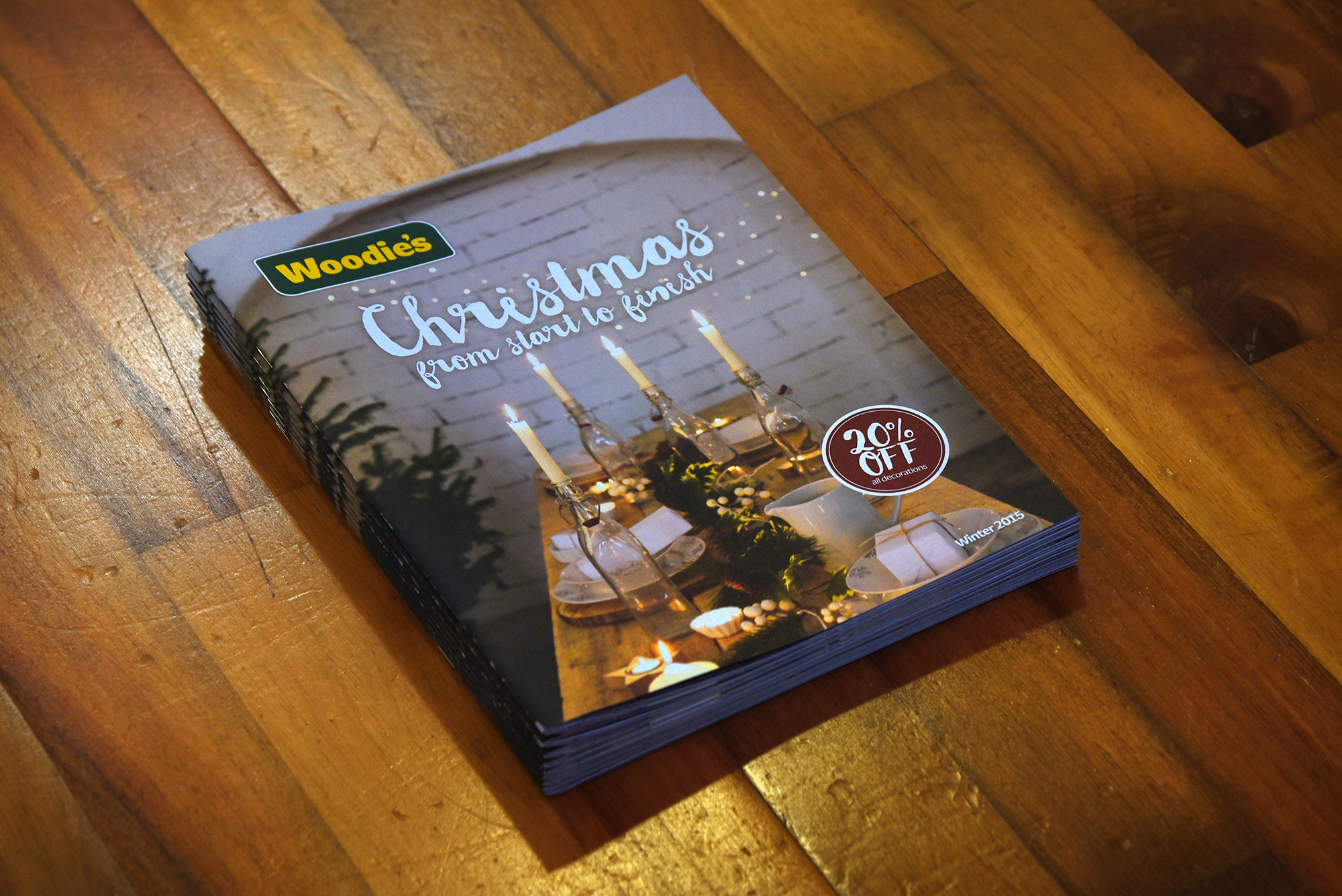 Cover image: Woodie's Christmas Magazine (2015)