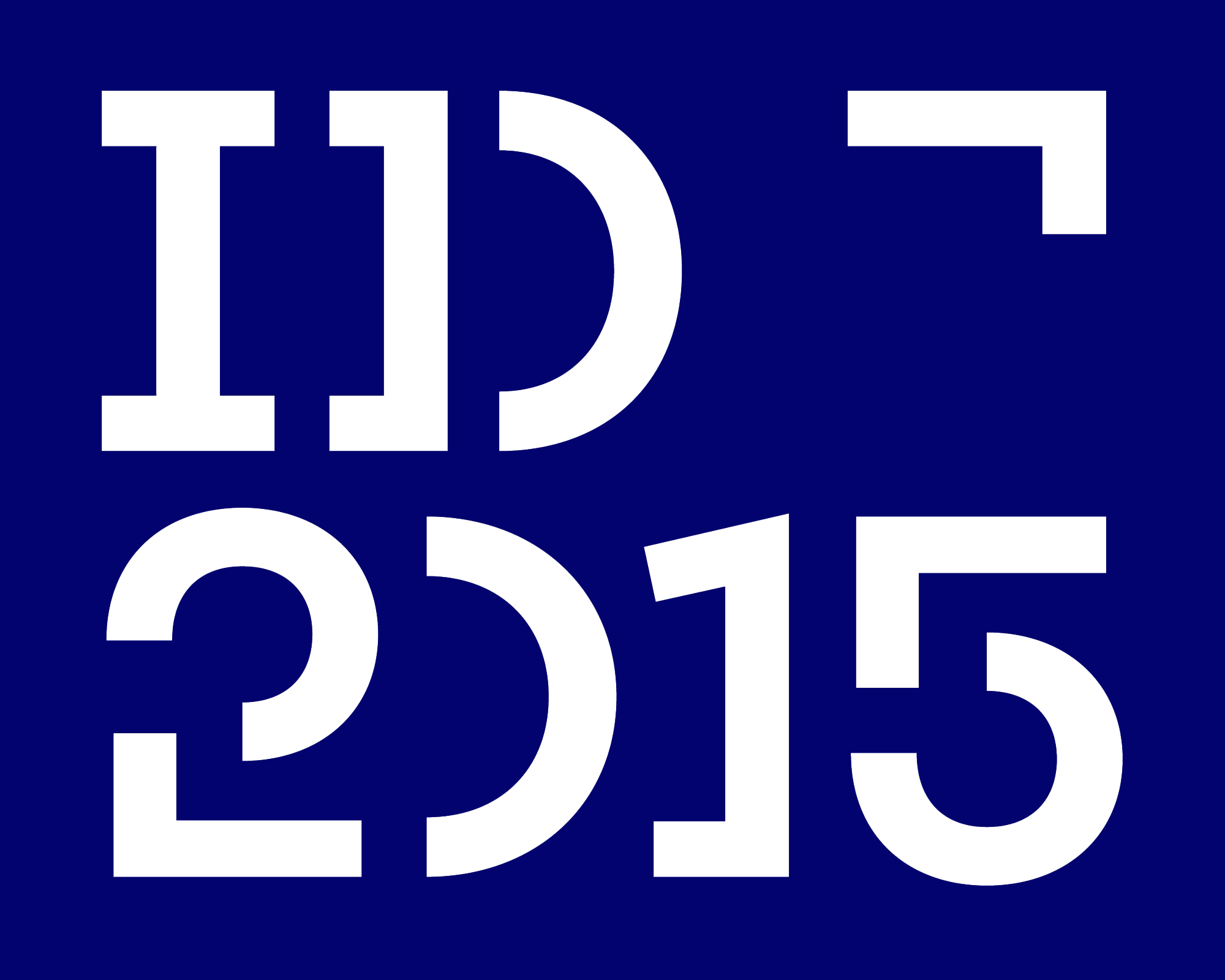 Cover image: ID2015 Visual Identity