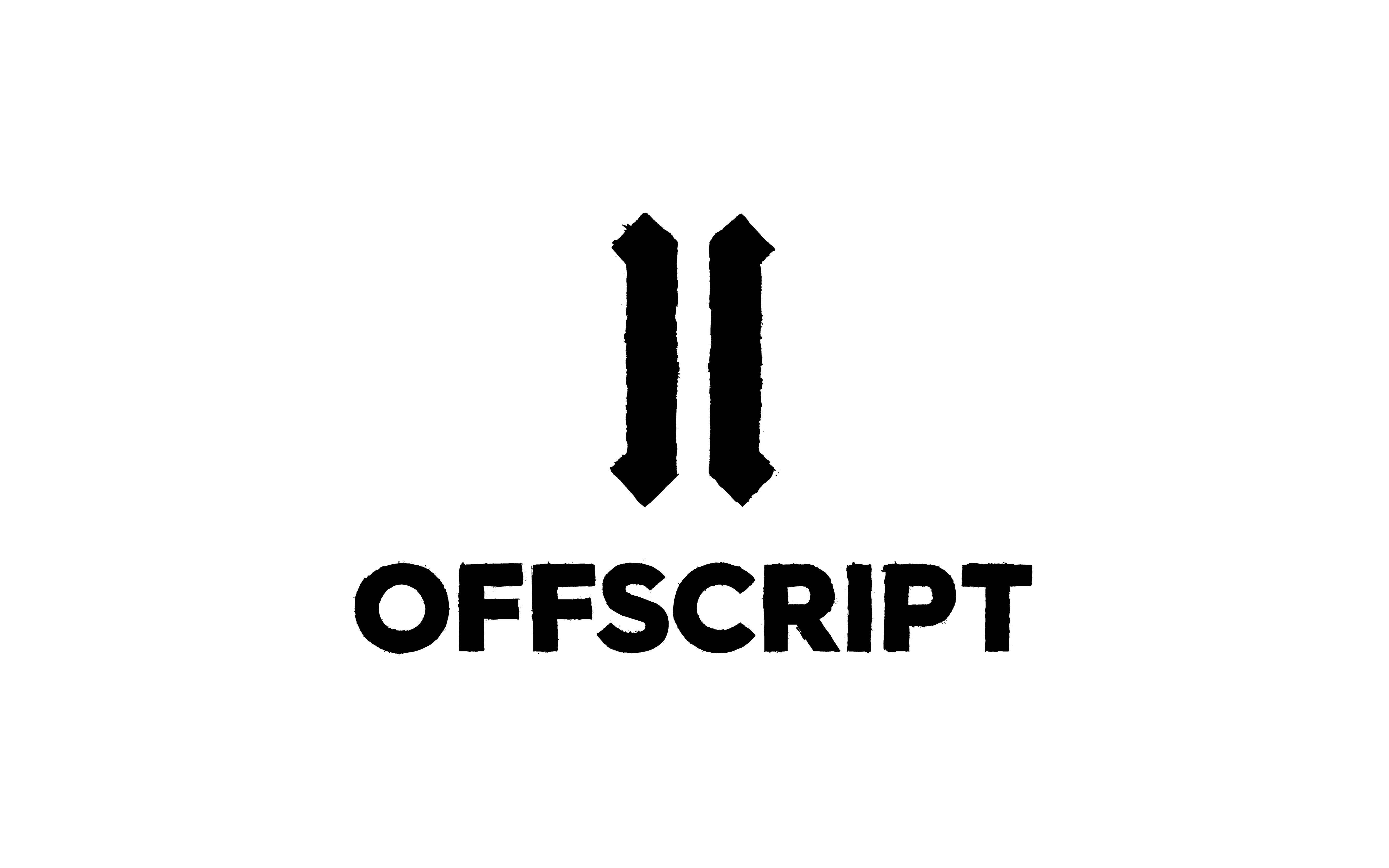 Cover image: Offscript Brand Identity