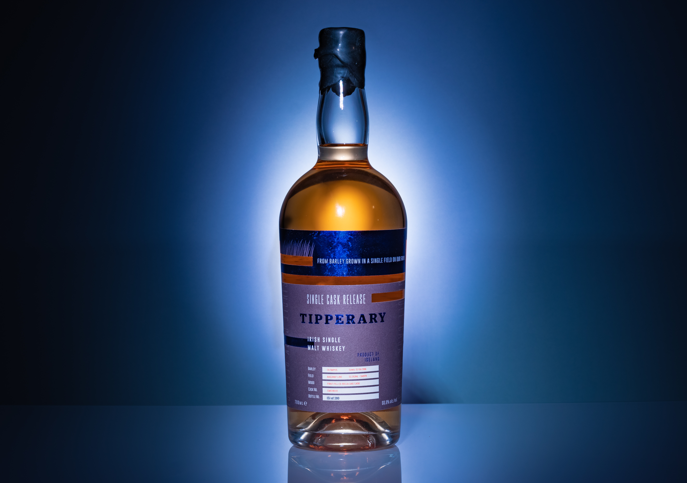 Cover image: Tipperary Boutique Distillery Whiskey Packaging