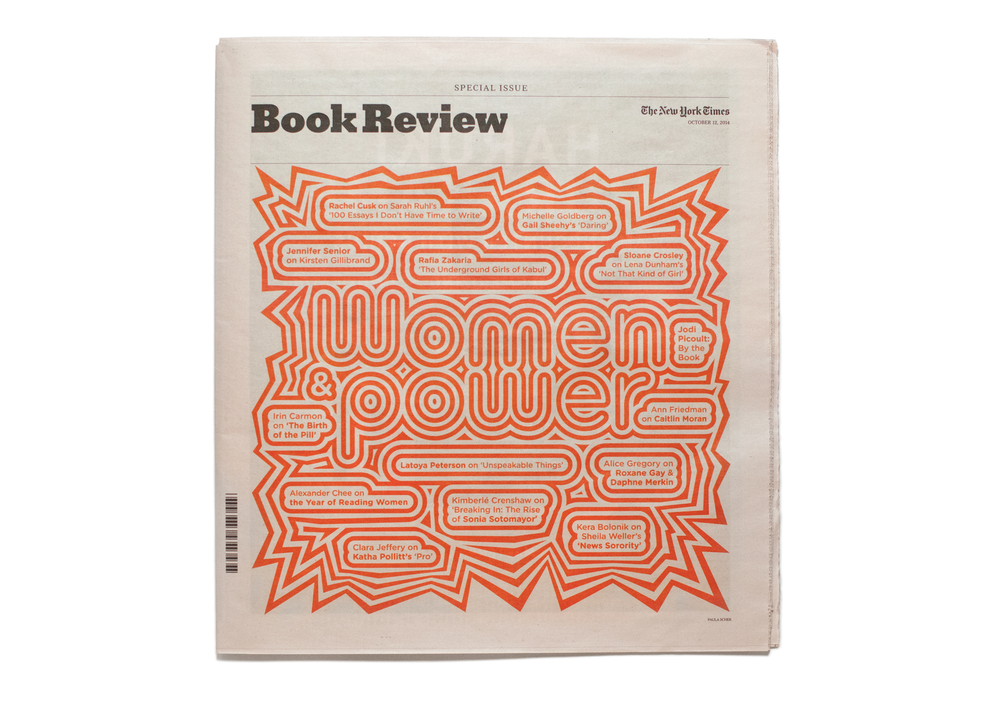 Cover image: The New York Times Book Review (2014)