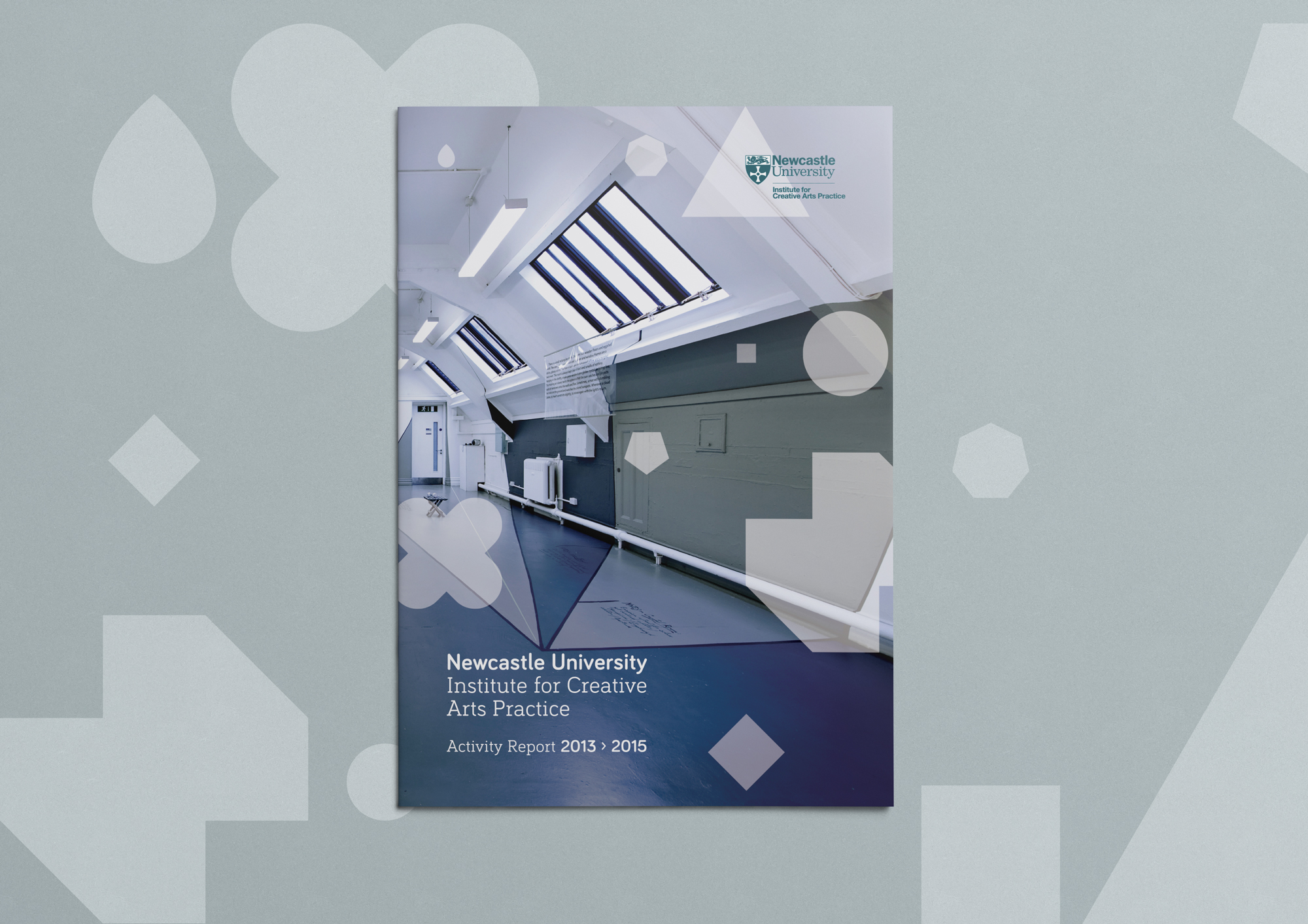 Cover image: Institute for Creative Arts Practice Activity Report
