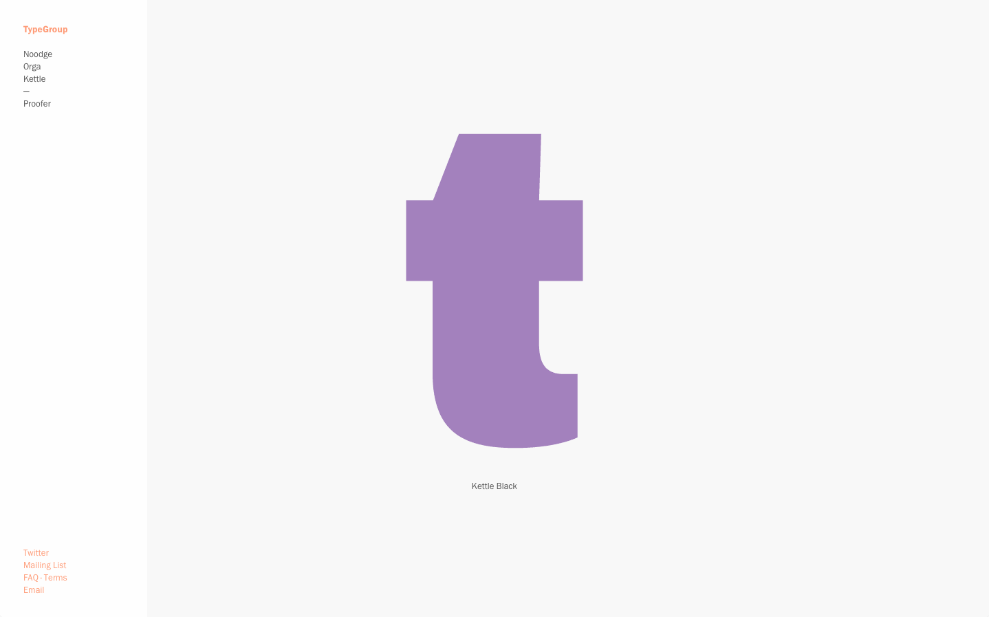 Cover image: TypeGroup (2012)