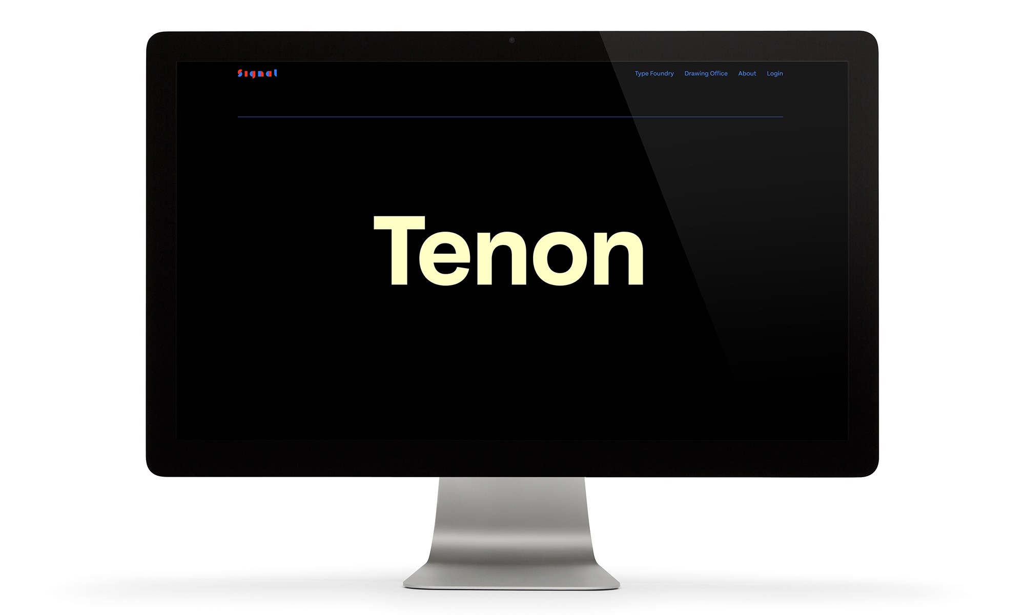 Cover image: Signal Type Foundry Website