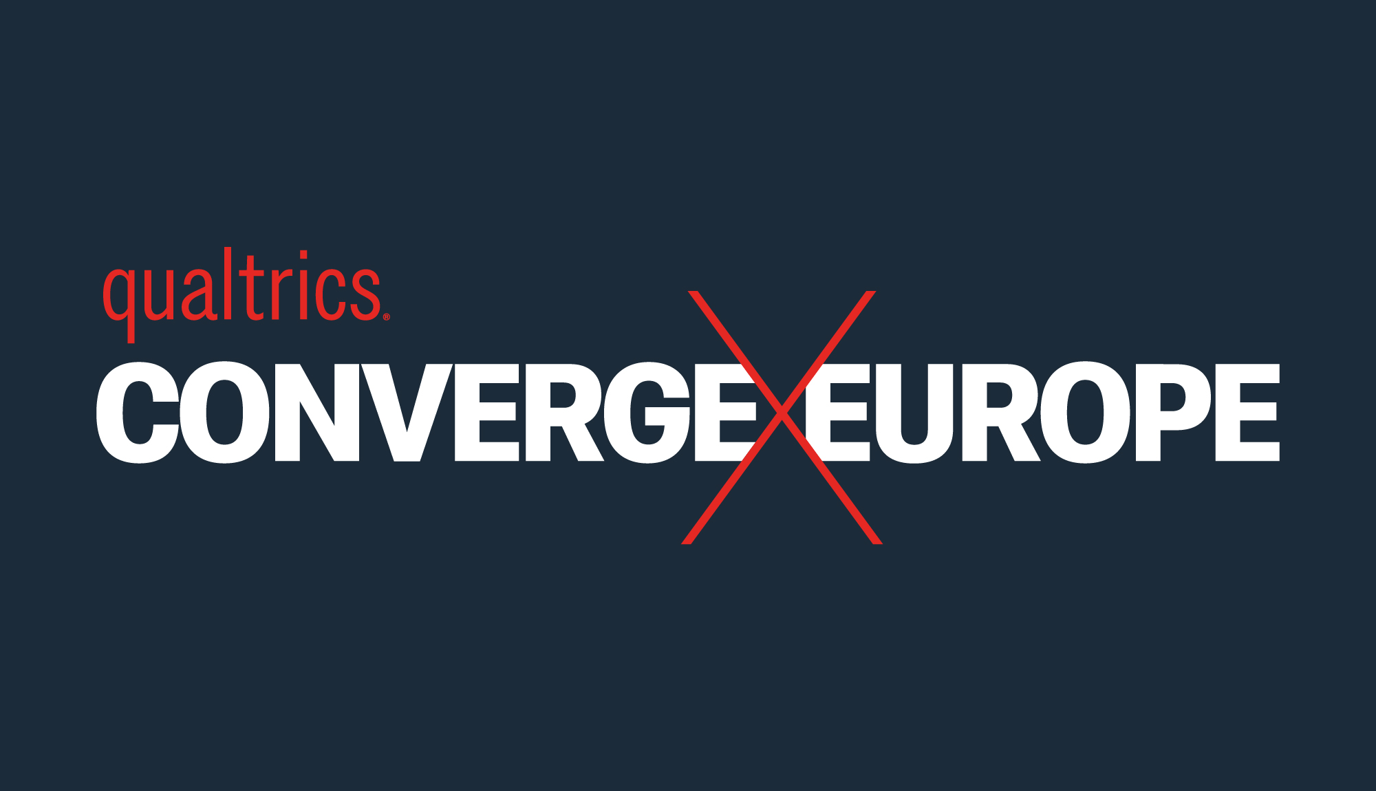 Cover image: Qualtrics Converge Europe Event