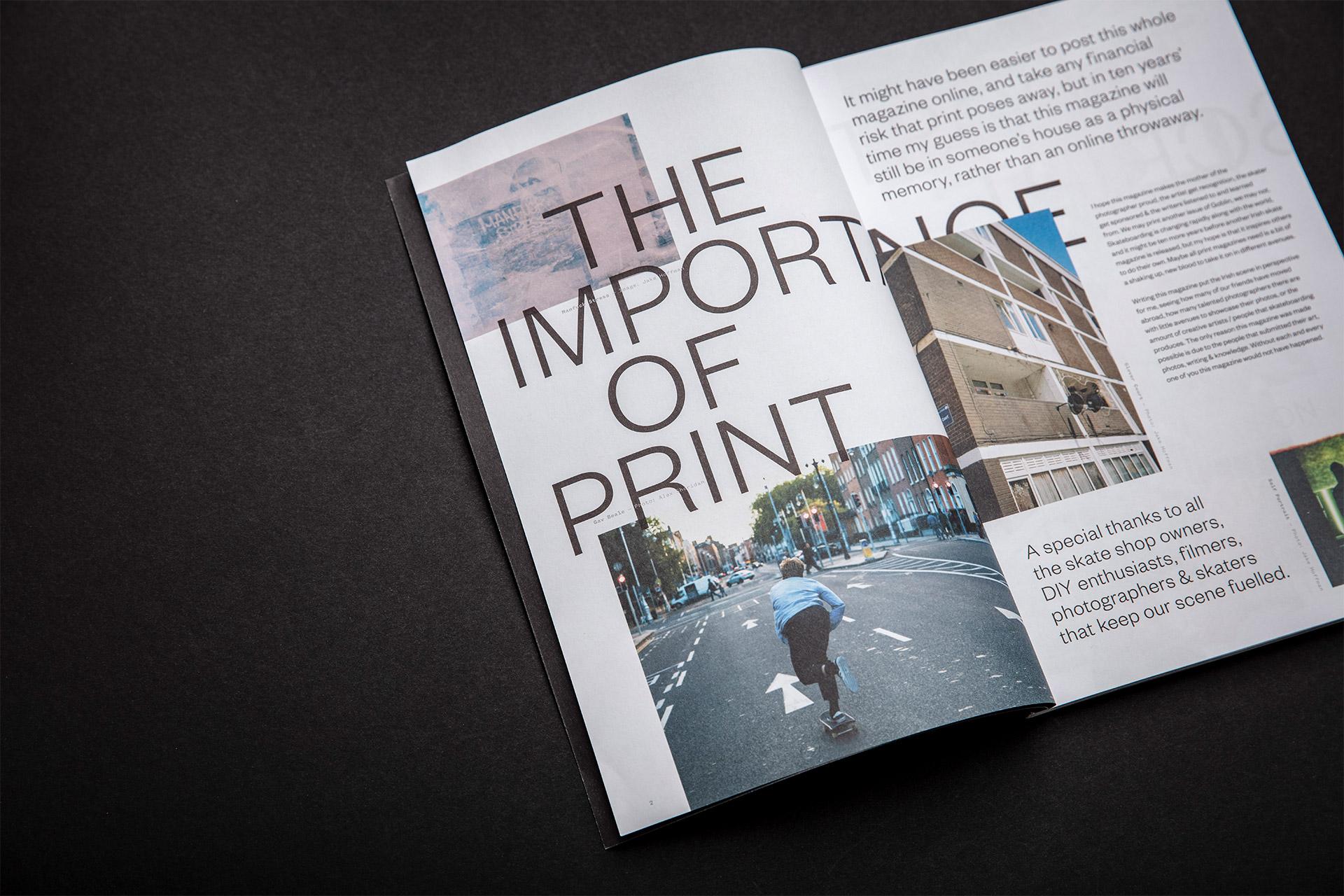 Cover image: Goblin Skateboard Magazine (2018)
