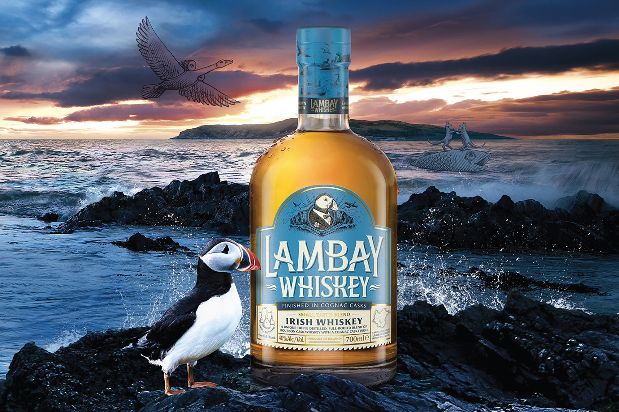 Cover image: Lambay Irish Whiskey
