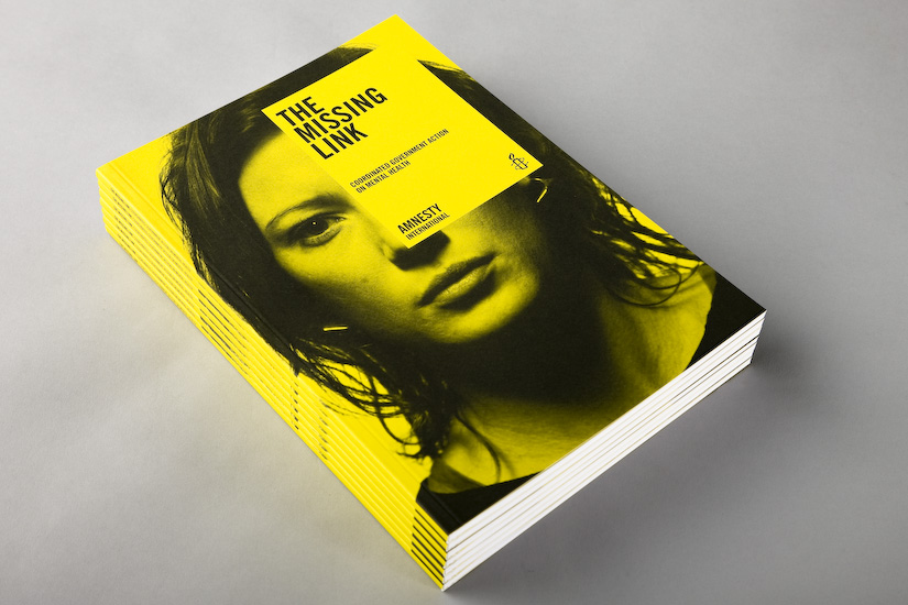 Cover image: Amnesty International The Missing link report
