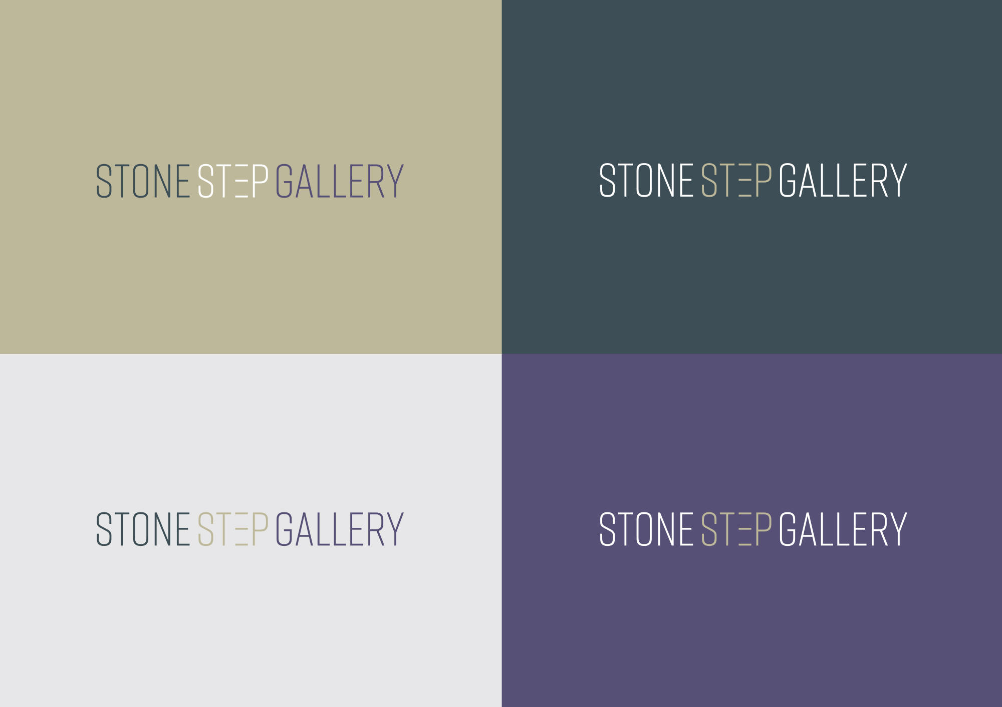 Cover image: Stone Step Gallery branding