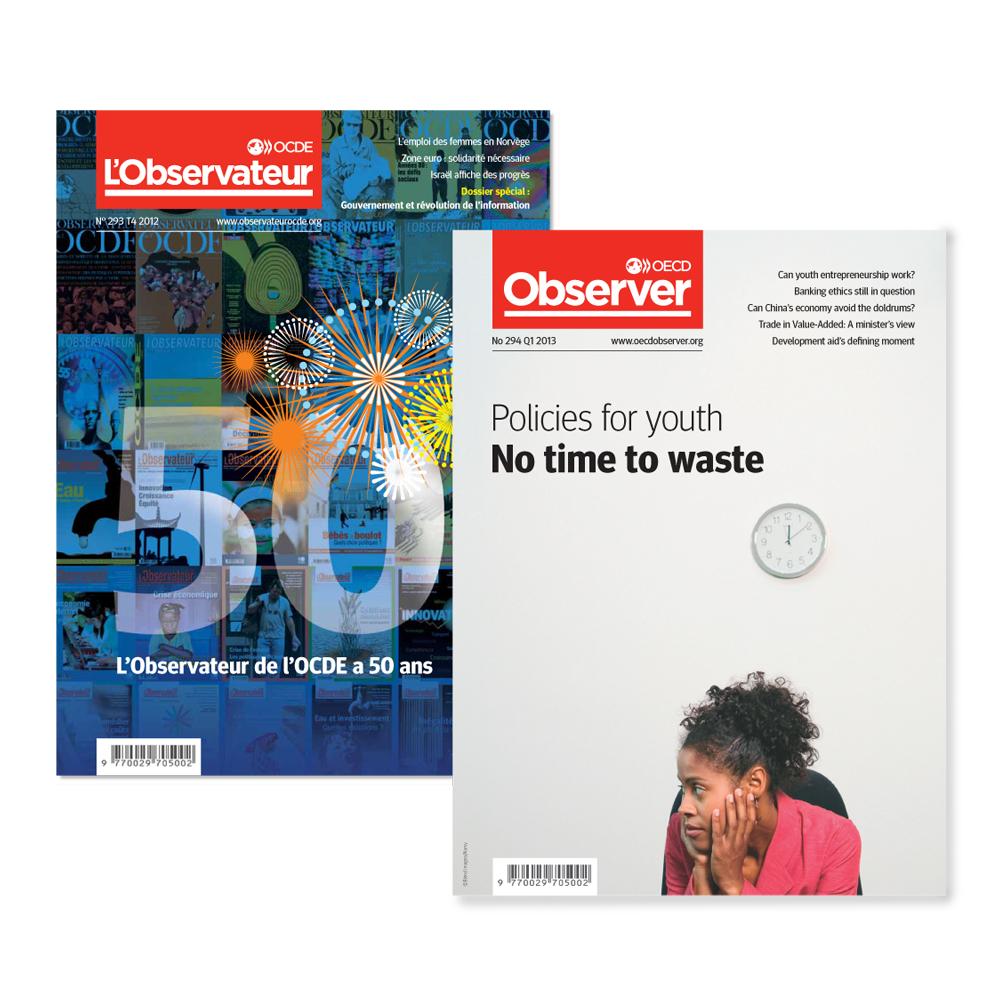 Cover image: OECD Observer Magazine