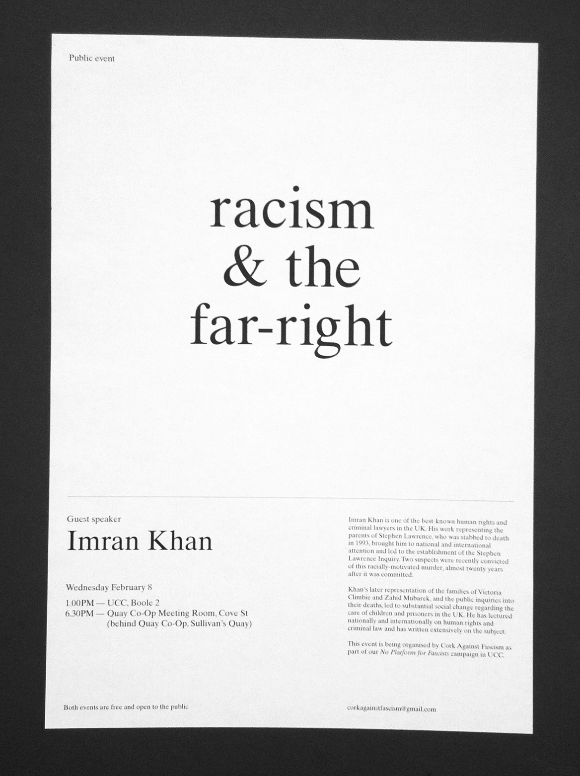 Cover image: Racism & the Far-Right (2012)