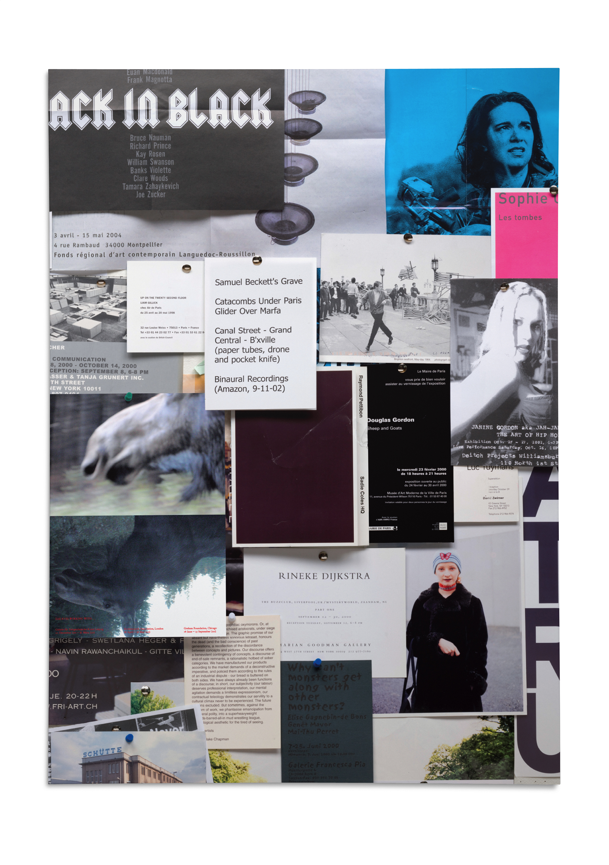 Cover image: Zak Kyes Working With… exhibition poster (2011)