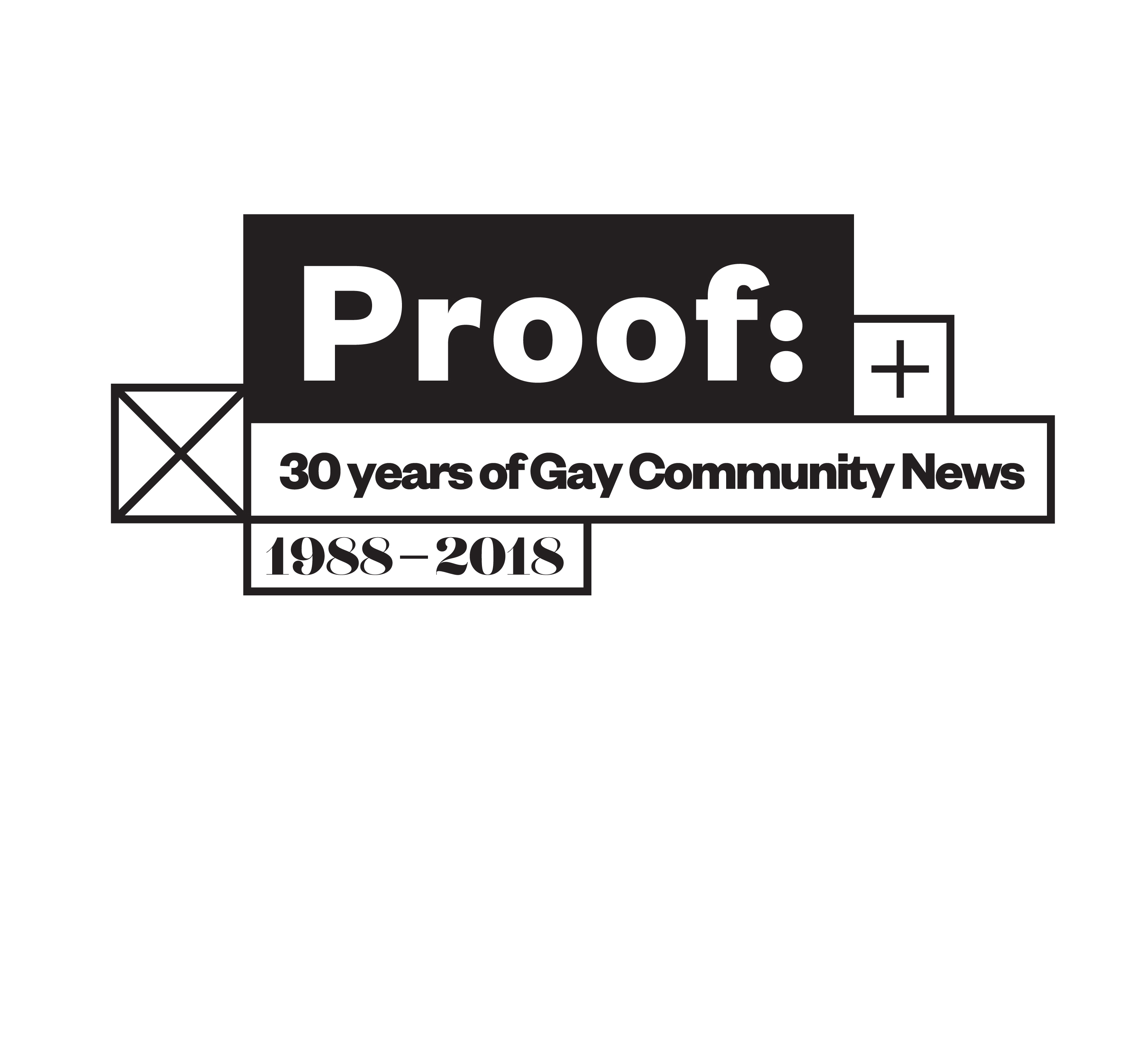 Cover image: Proof: 30 Years of Gay Community News