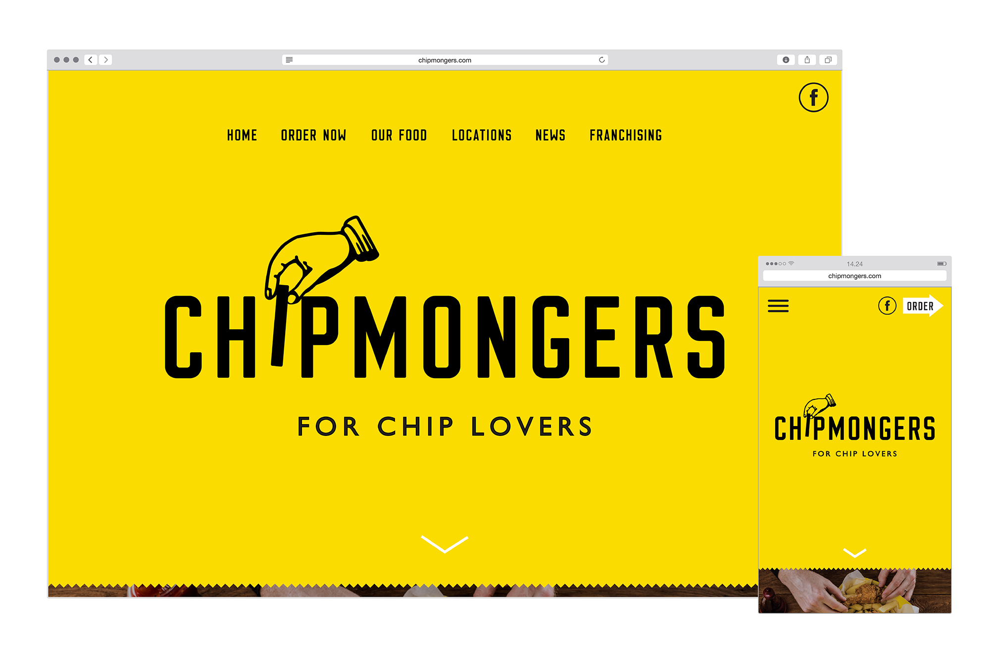 Cover image: Chipmongers - Website