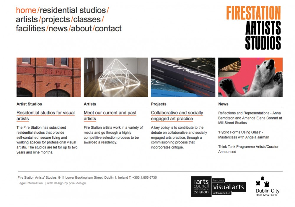 Cover image: Fire Station Artists' Studios (2010)
