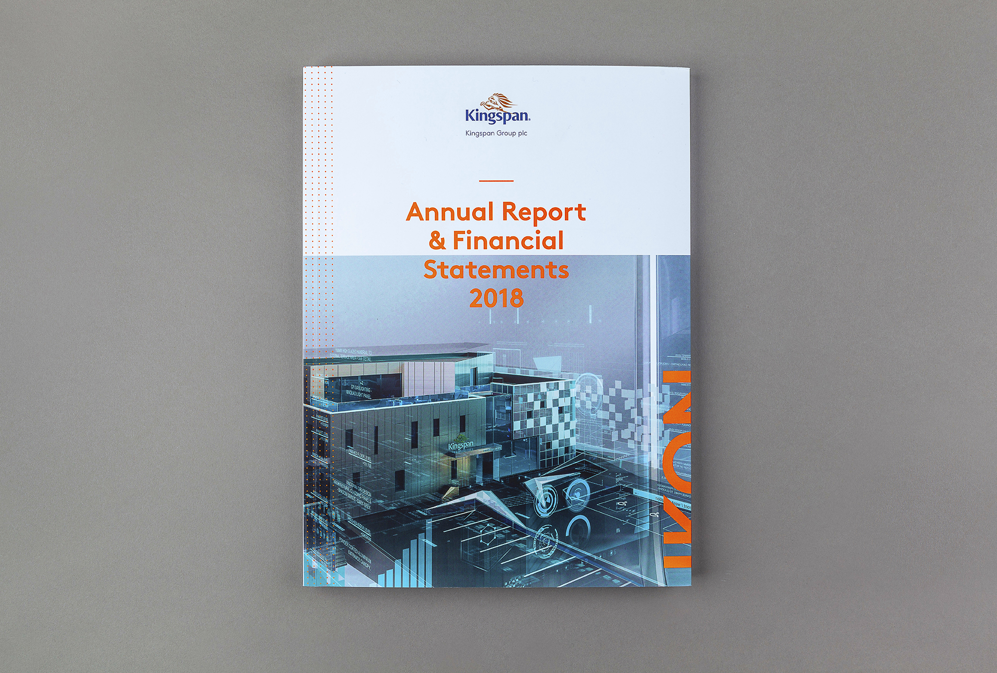 Cover image: Kingspan Annual Report 2018