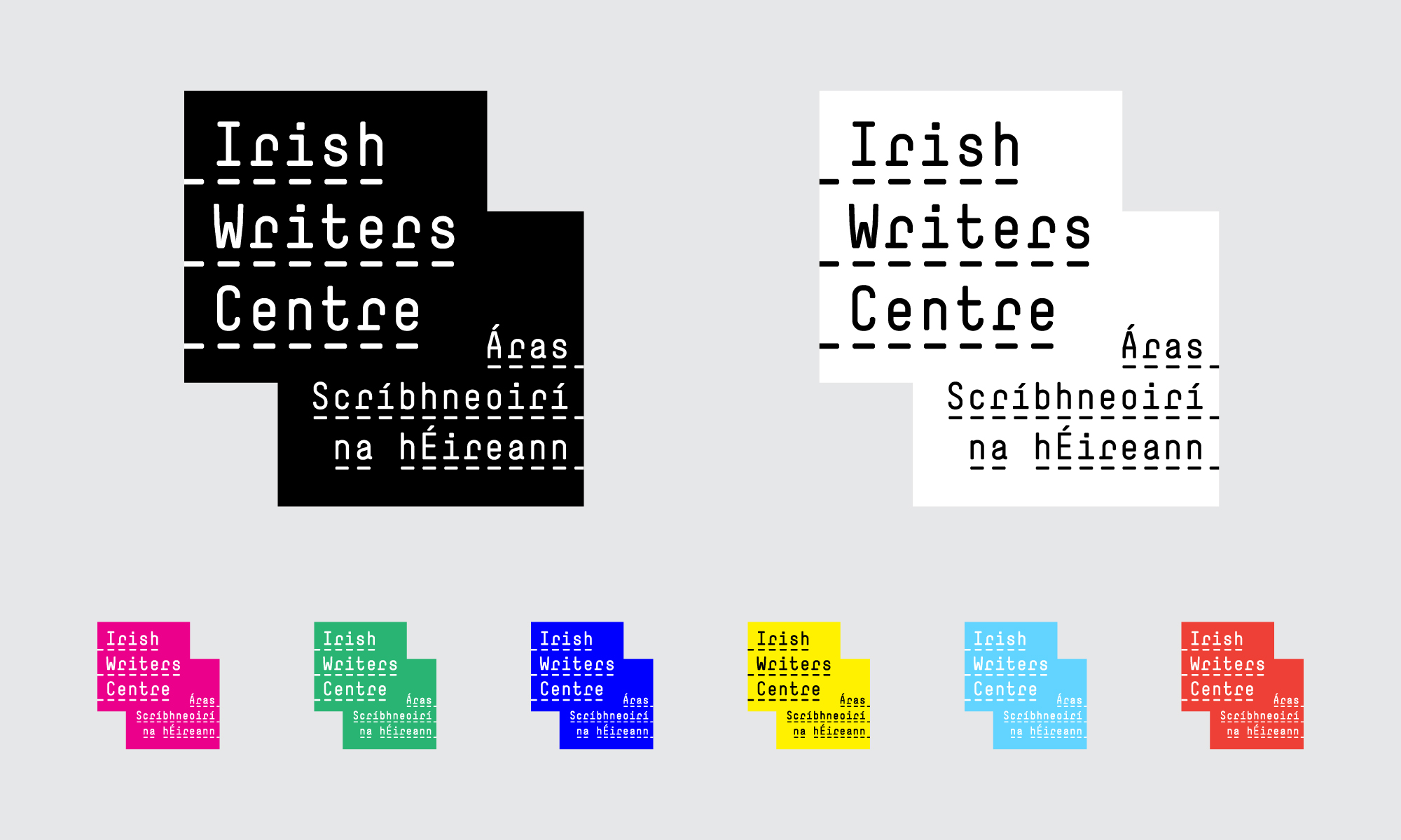 Cover image: The Irish Writers Centre Identity