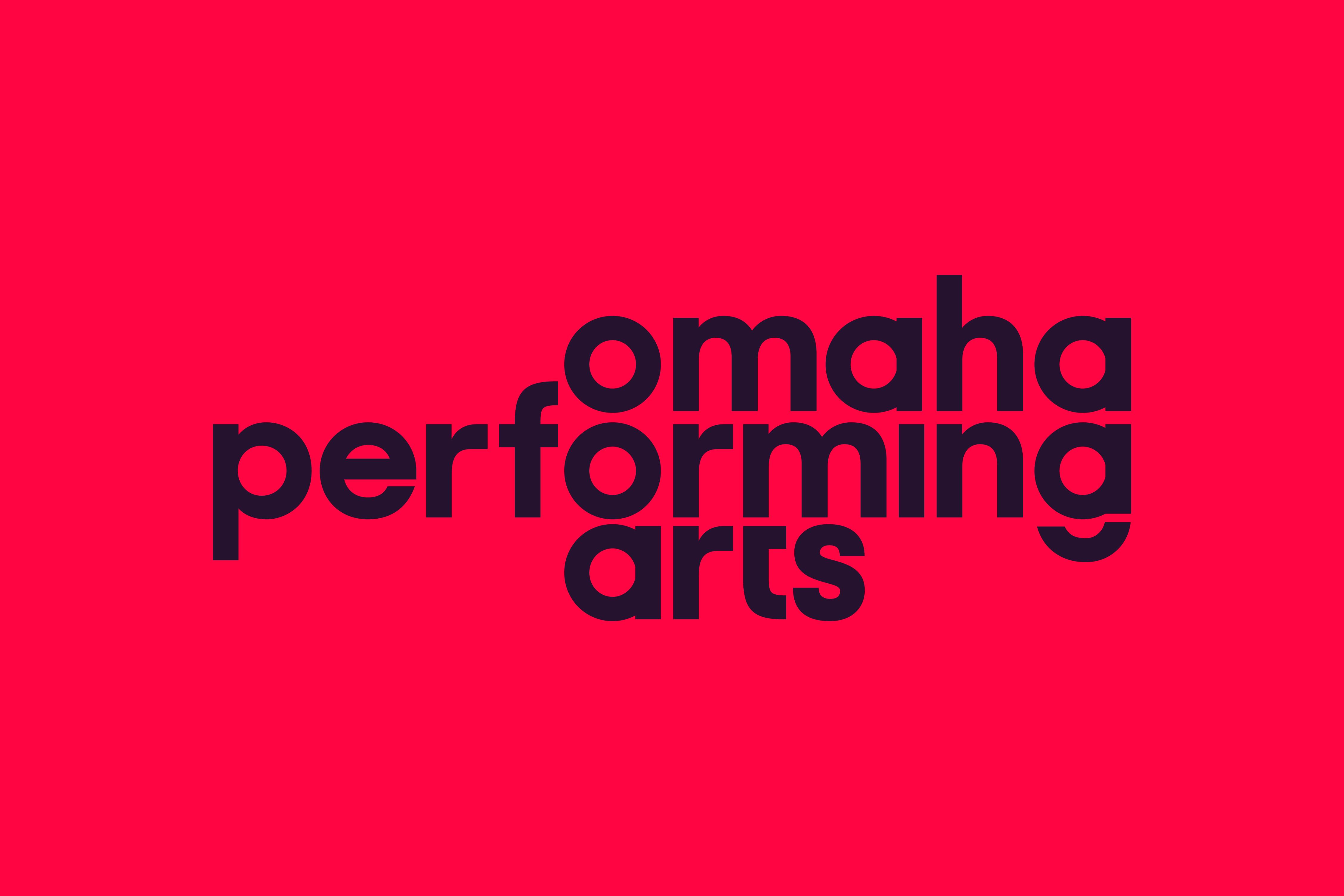 Cover image: Omaha Performing Arts Rebrand