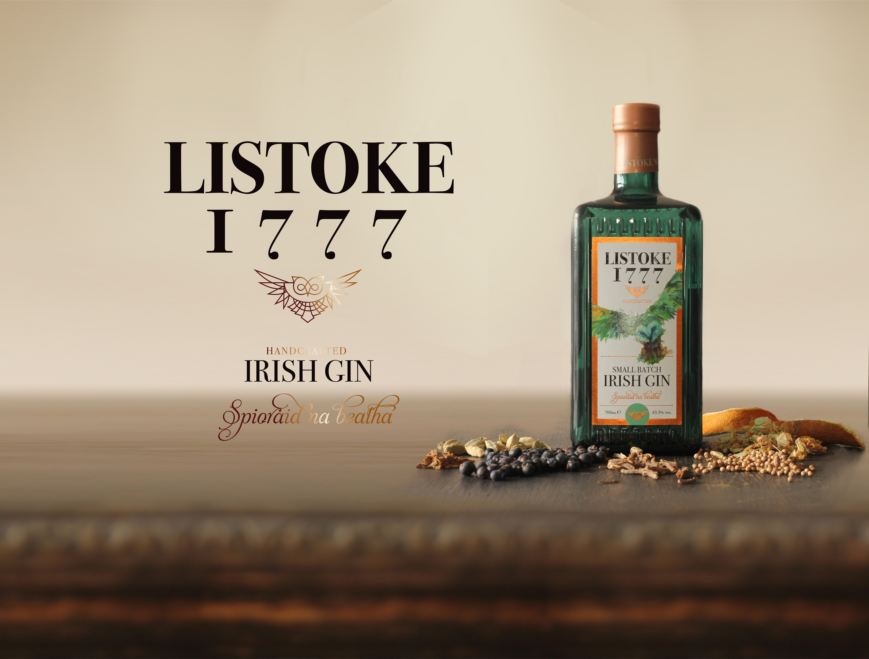 Cover image: Listoke Gin - Packaging
