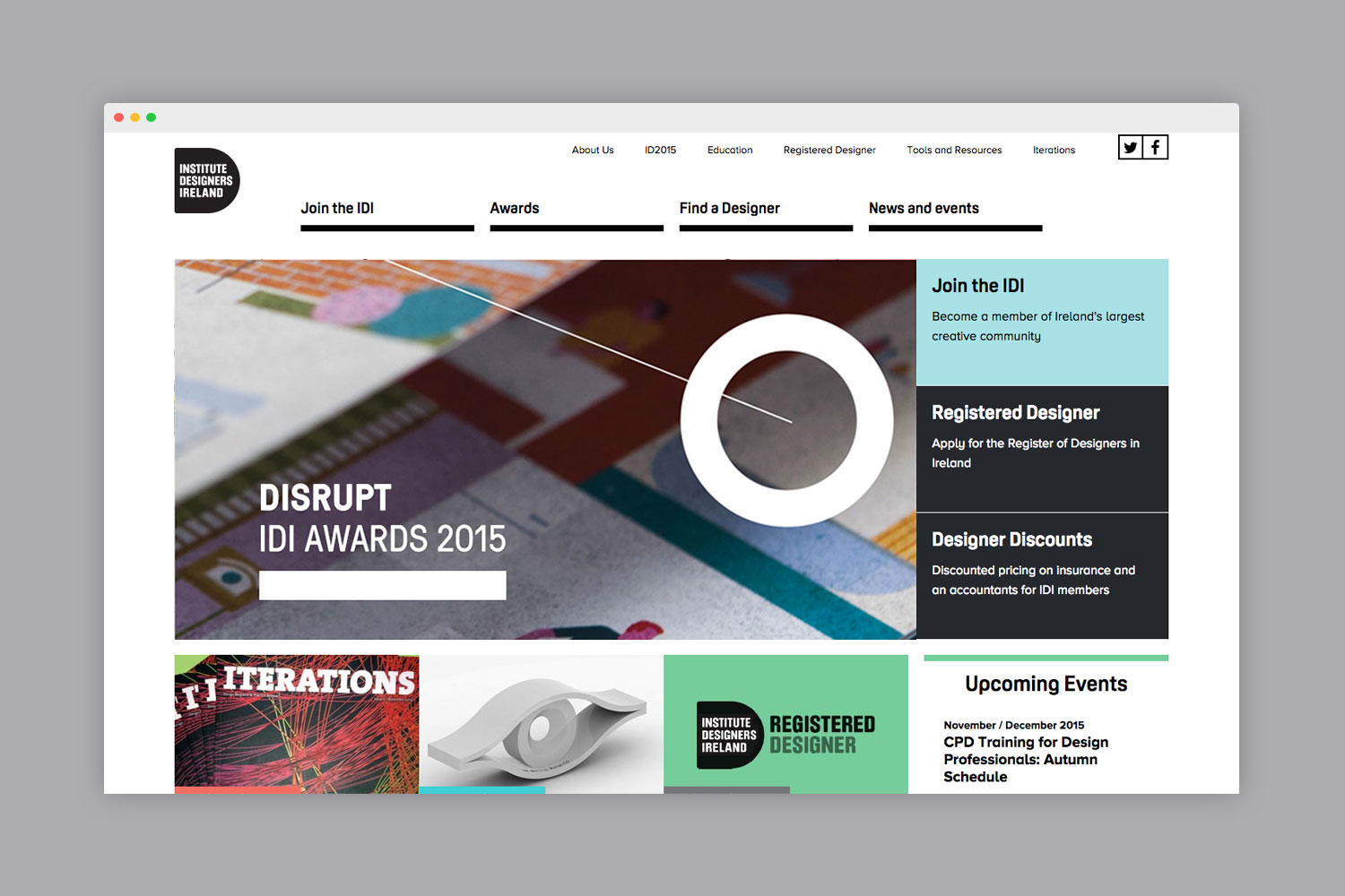 Cover image: Institute of Designers in Ireland