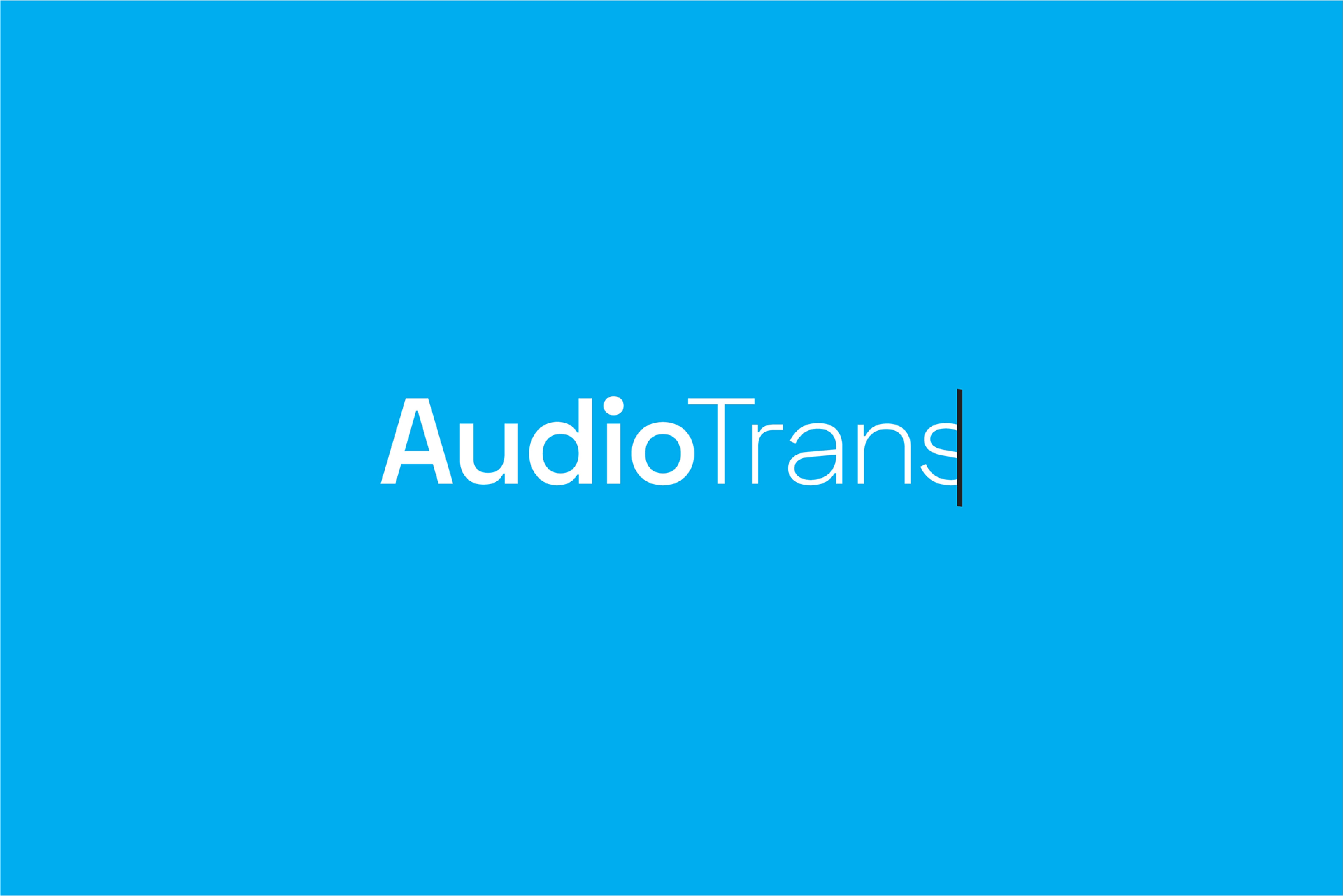 Cover image: AudioTrans Limited