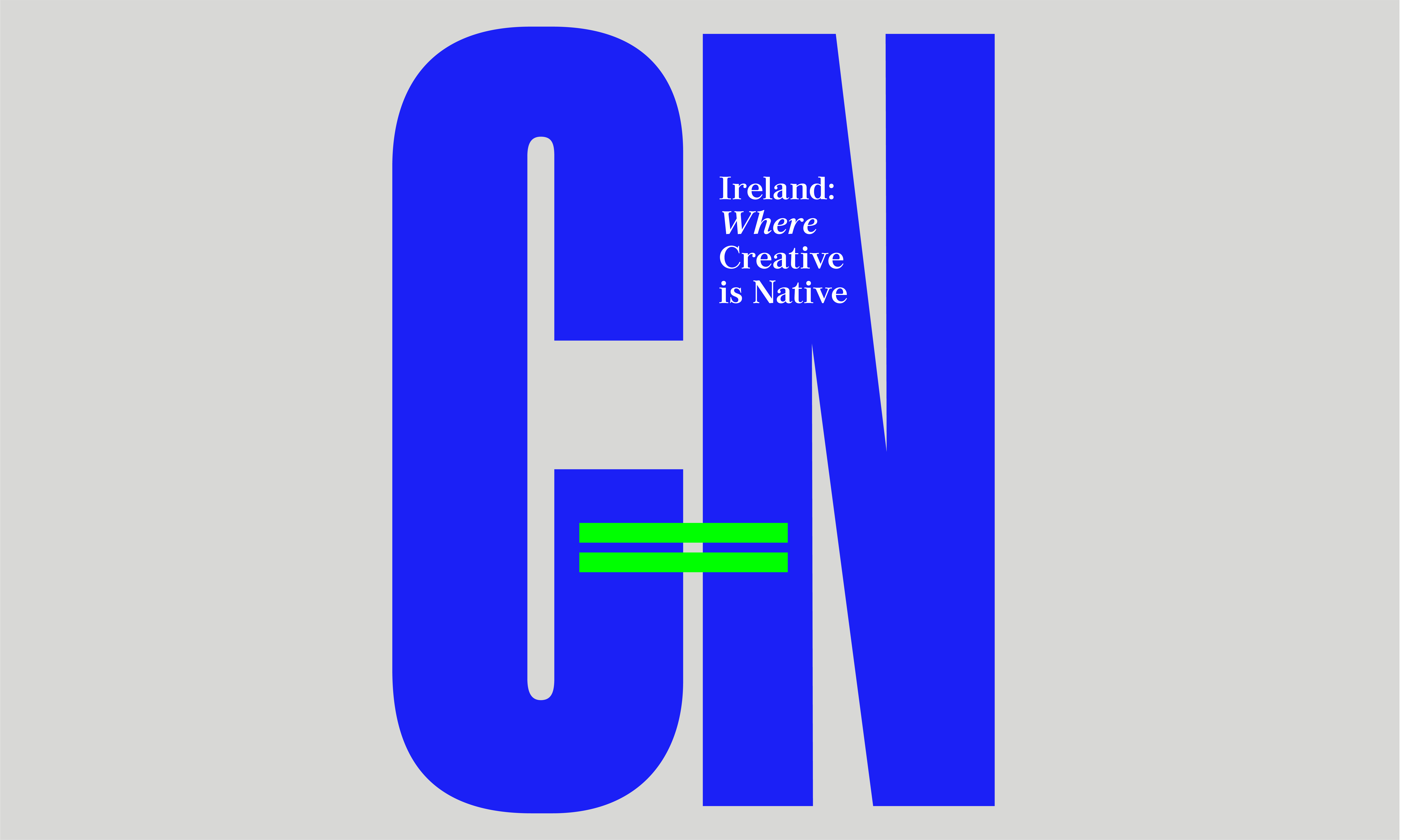 Cover image: Creative is Native (C=N)