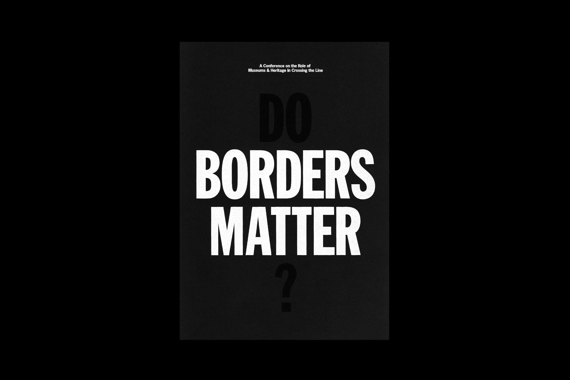 Cover image: Do Borders Matter?