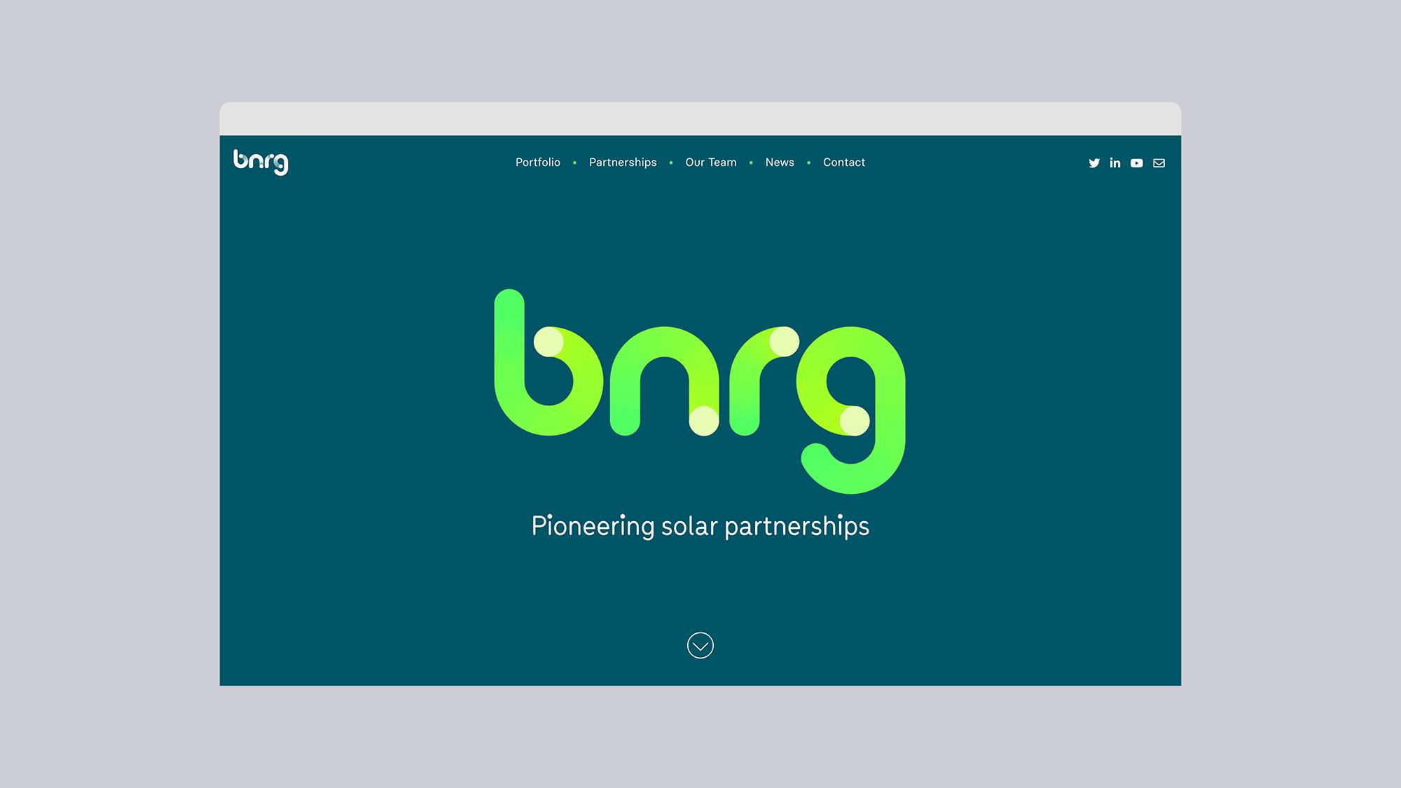Cover image: BNRG — Identity & Website (2020)