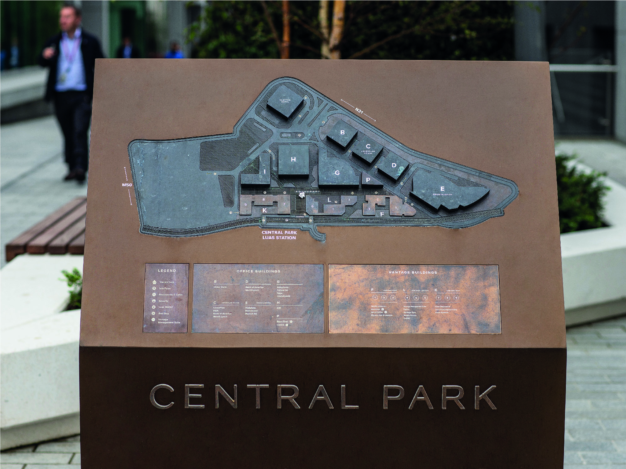 Cover image: Central Park Wayfinding