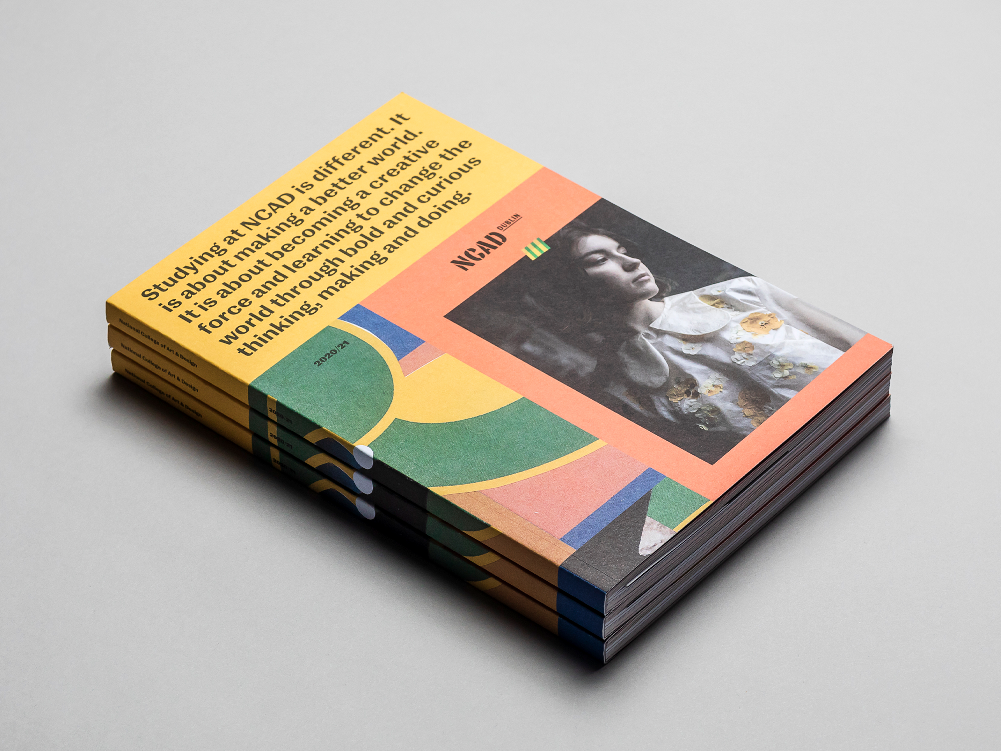 Cover image: NCAD Prospectus 2019