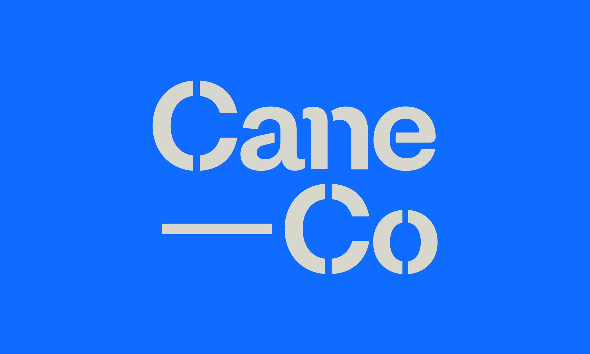 Cover image: CaneCo Brand Identity and Website