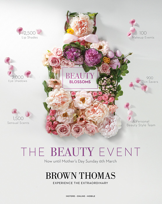 Cover image: Beauty Blossoms at Brown Thomas
